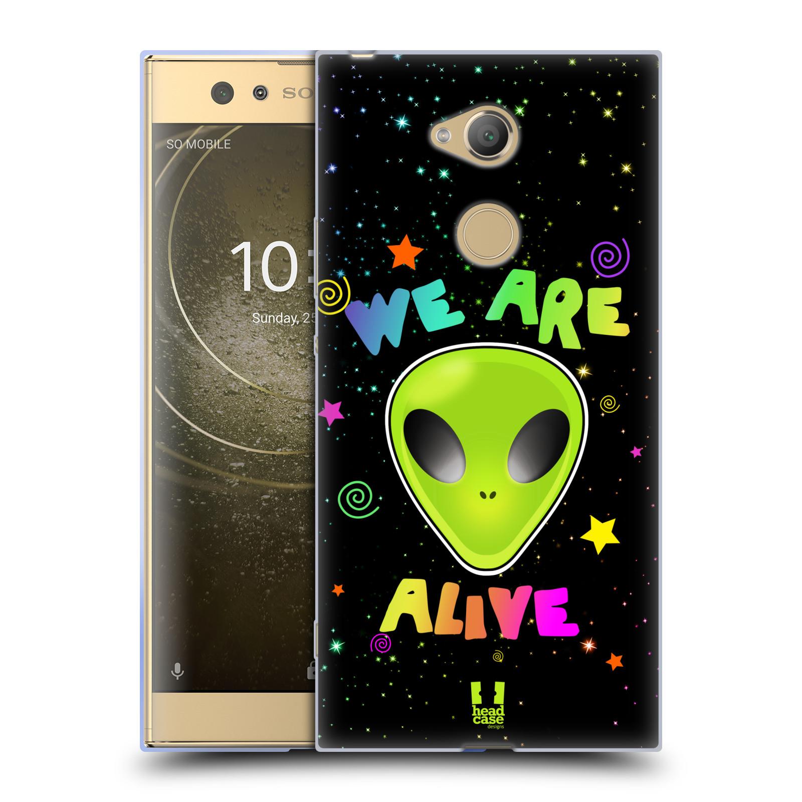 Silikonové pouzdro na mobil Sony Xperia XA2 Ultra - Head Case - ALIENS ALIVE