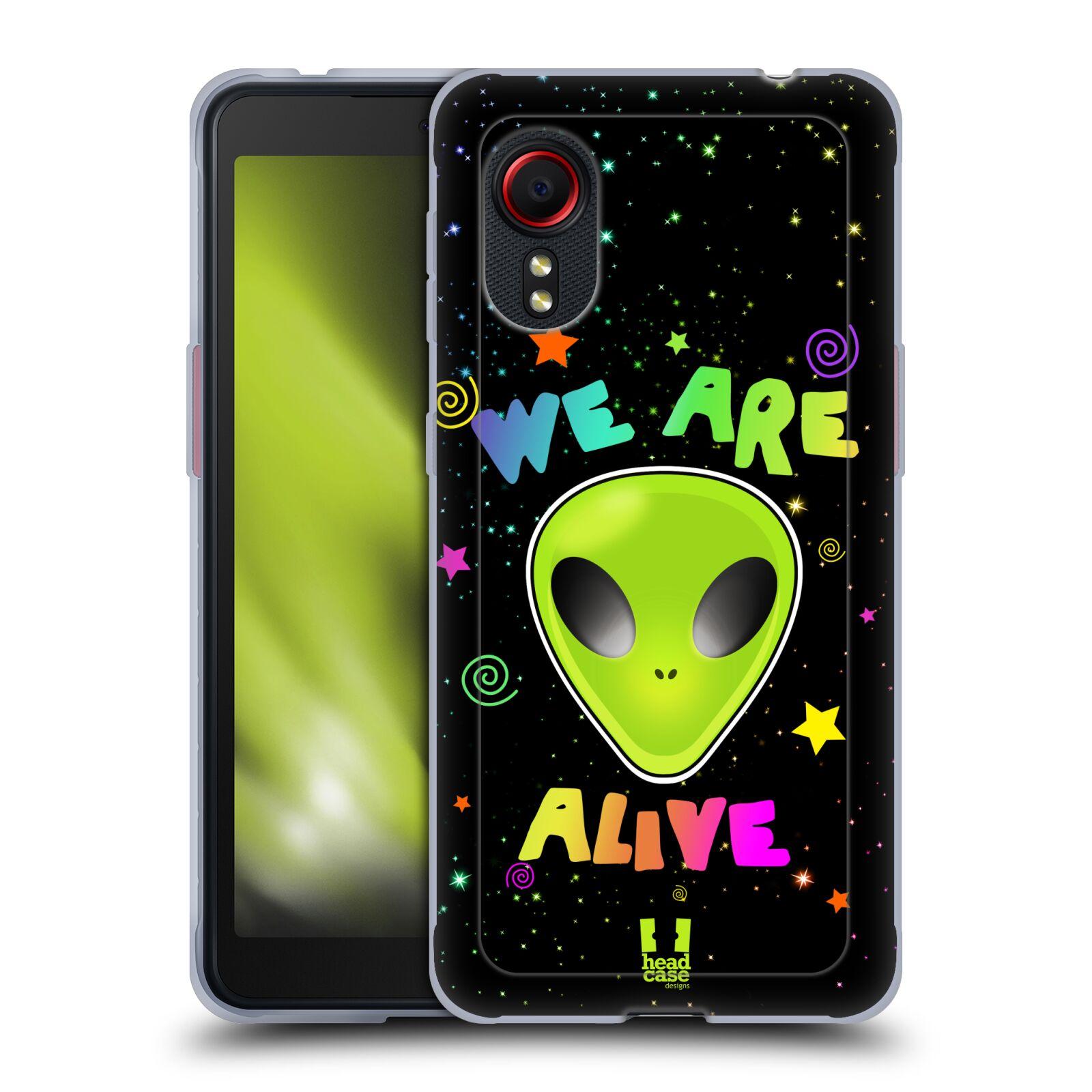 Silikonové pouzdro na mobil Samsung Galaxy Xcover 5 - Head Case - ALIENS ALIVE