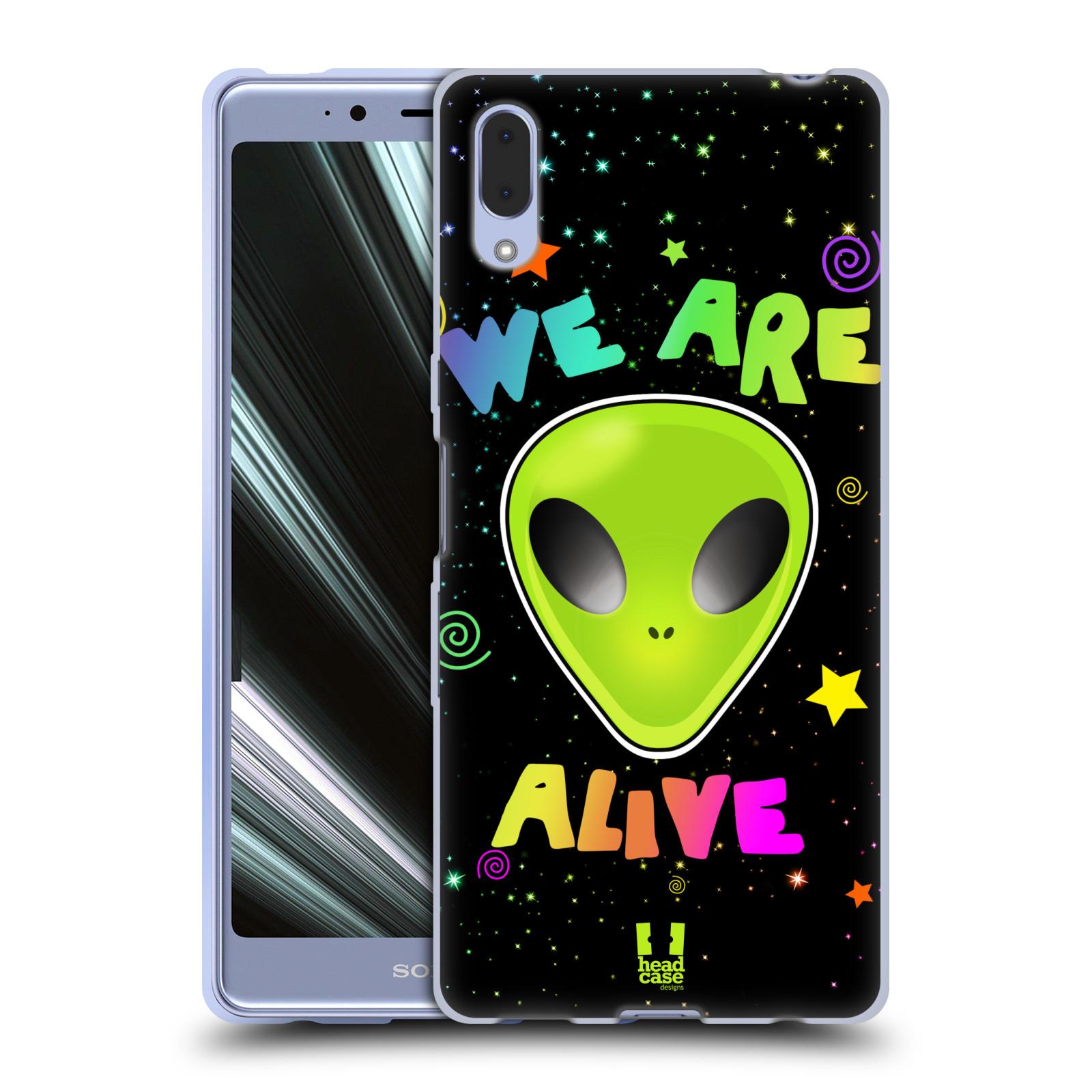 Silikonové pouzdro na mobil Sony Xperia L3 - Head Case - ALIENS ALIVE