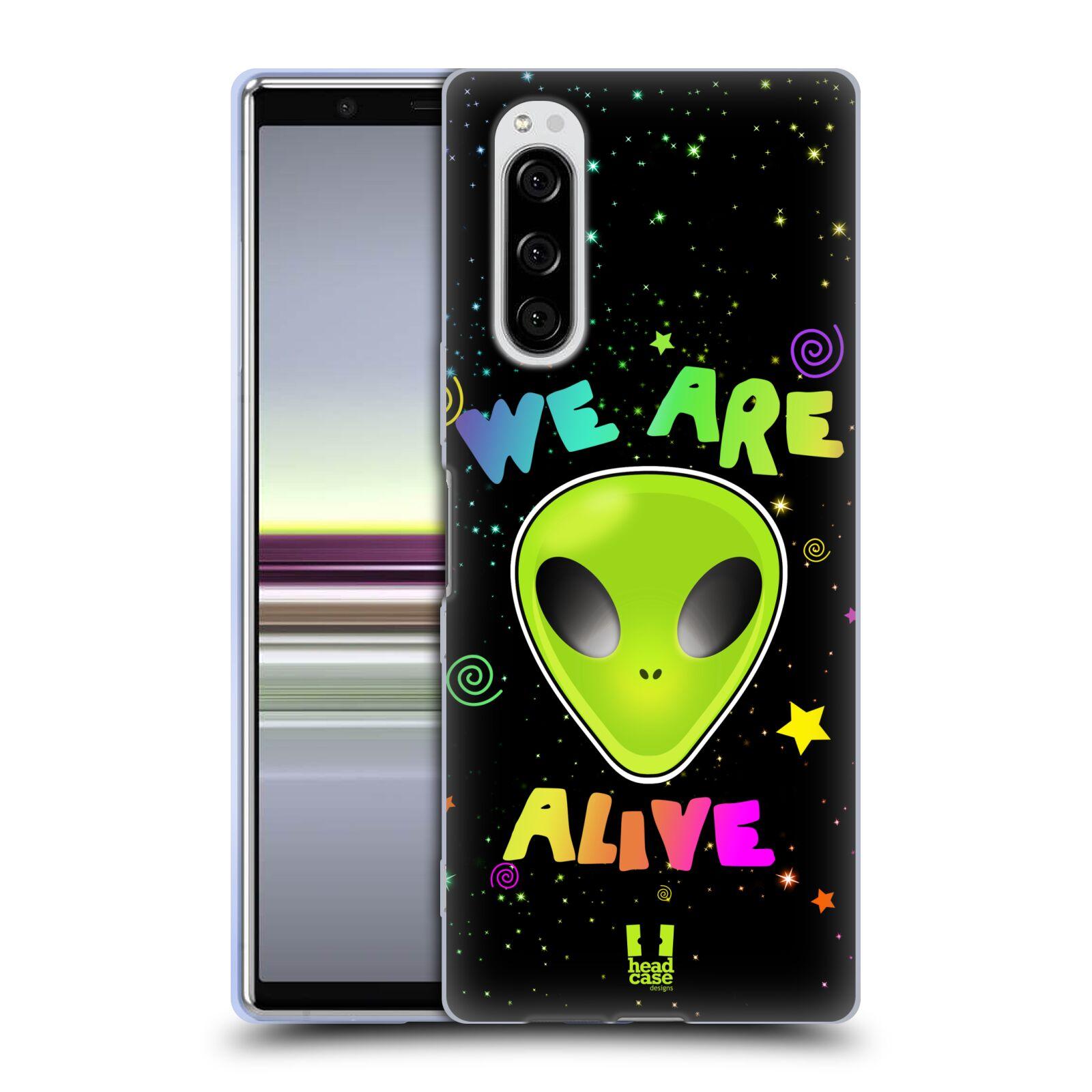 Silikonové pouzdro na mobil Sony Xperia 5 - Head Case - ALIENS ALIVE