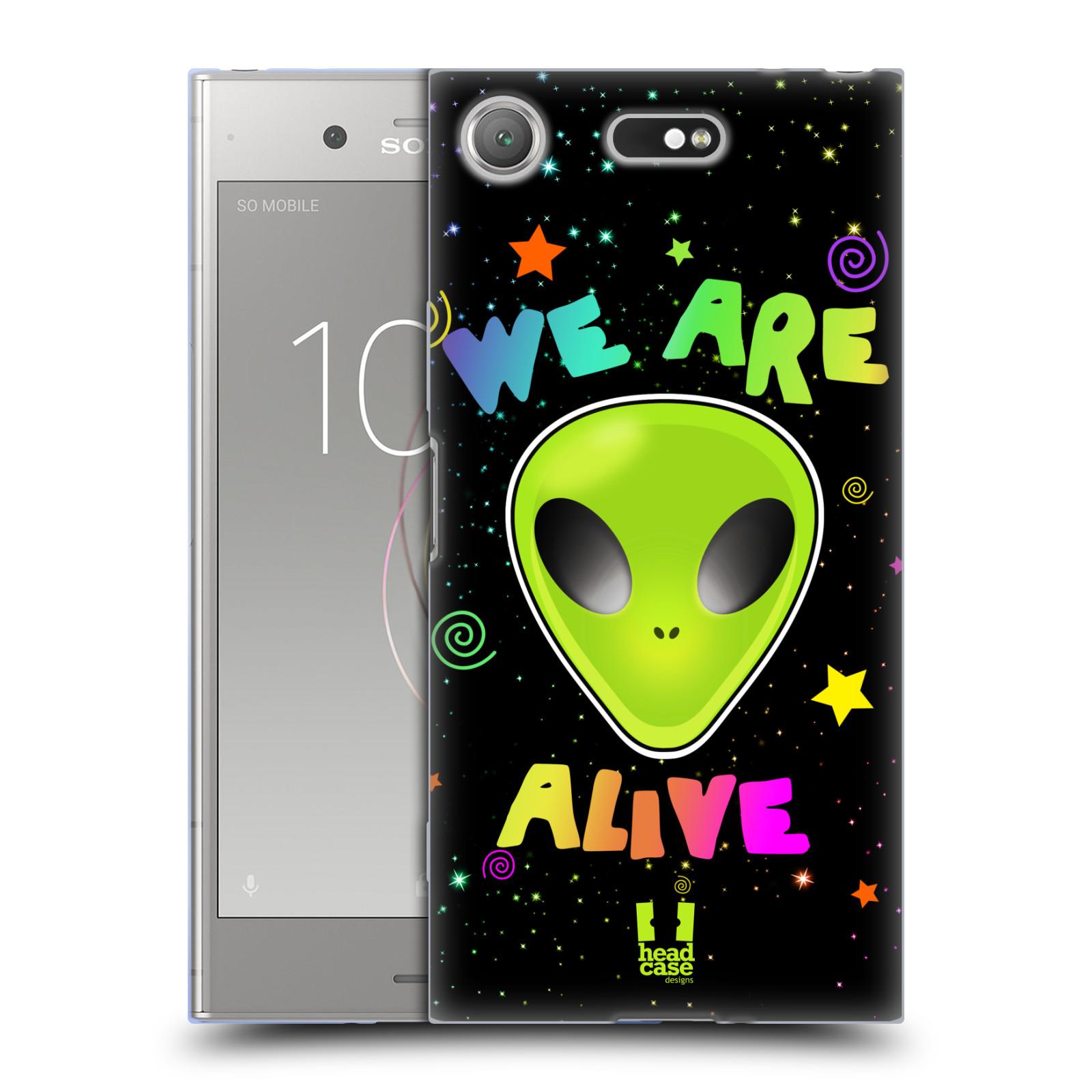 Silikonové pouzdro na mobil Sony Xperia XZ1 Compact - Head Case - ALIENS ALIVE