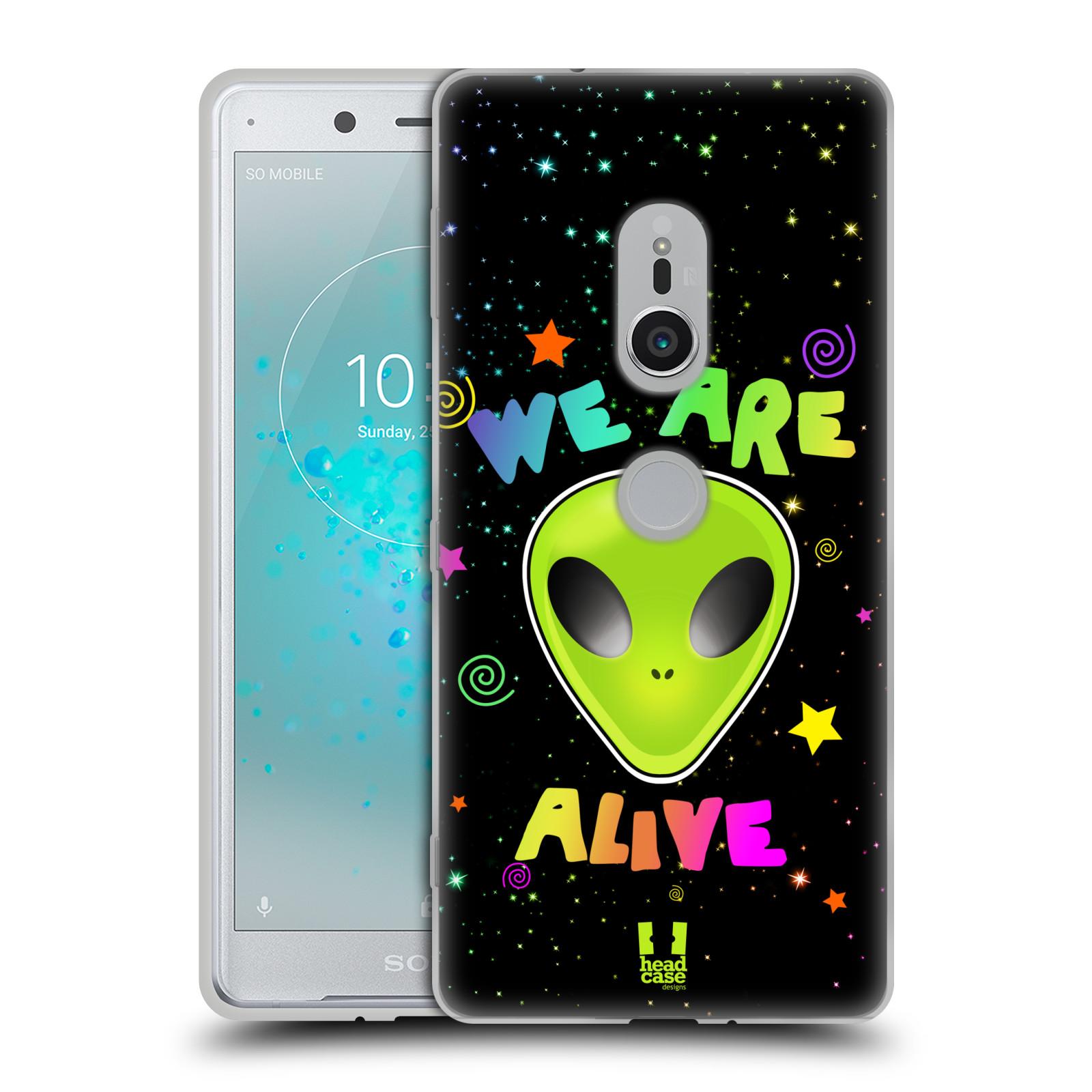 Silikonové pouzdro na mobil Sony Xperia XZ2 - Head Case - ALIENS ALIVE