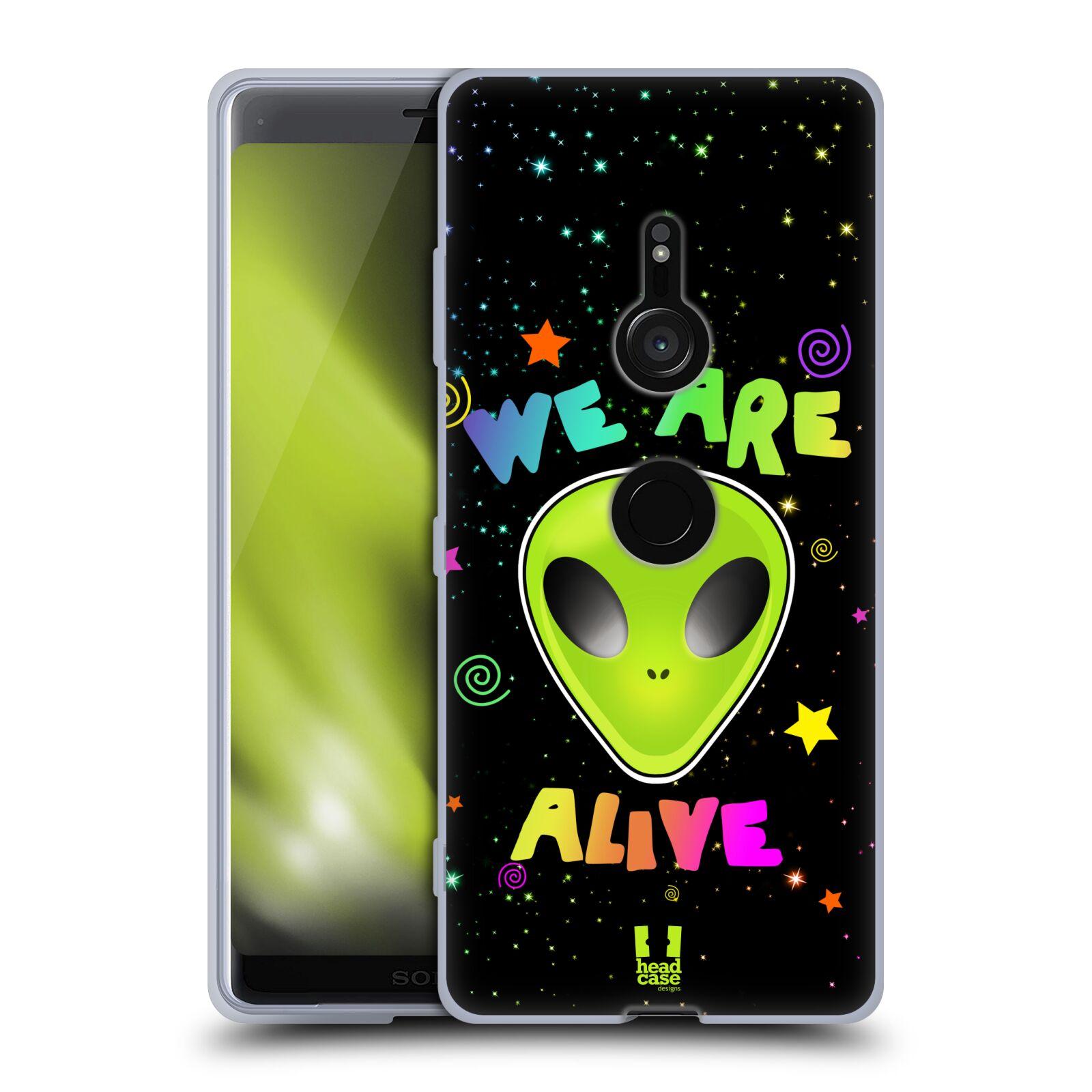Silikonové pouzdro na mobil Sony Xperia XZ3 - Head Case - ALIENS ALIVE