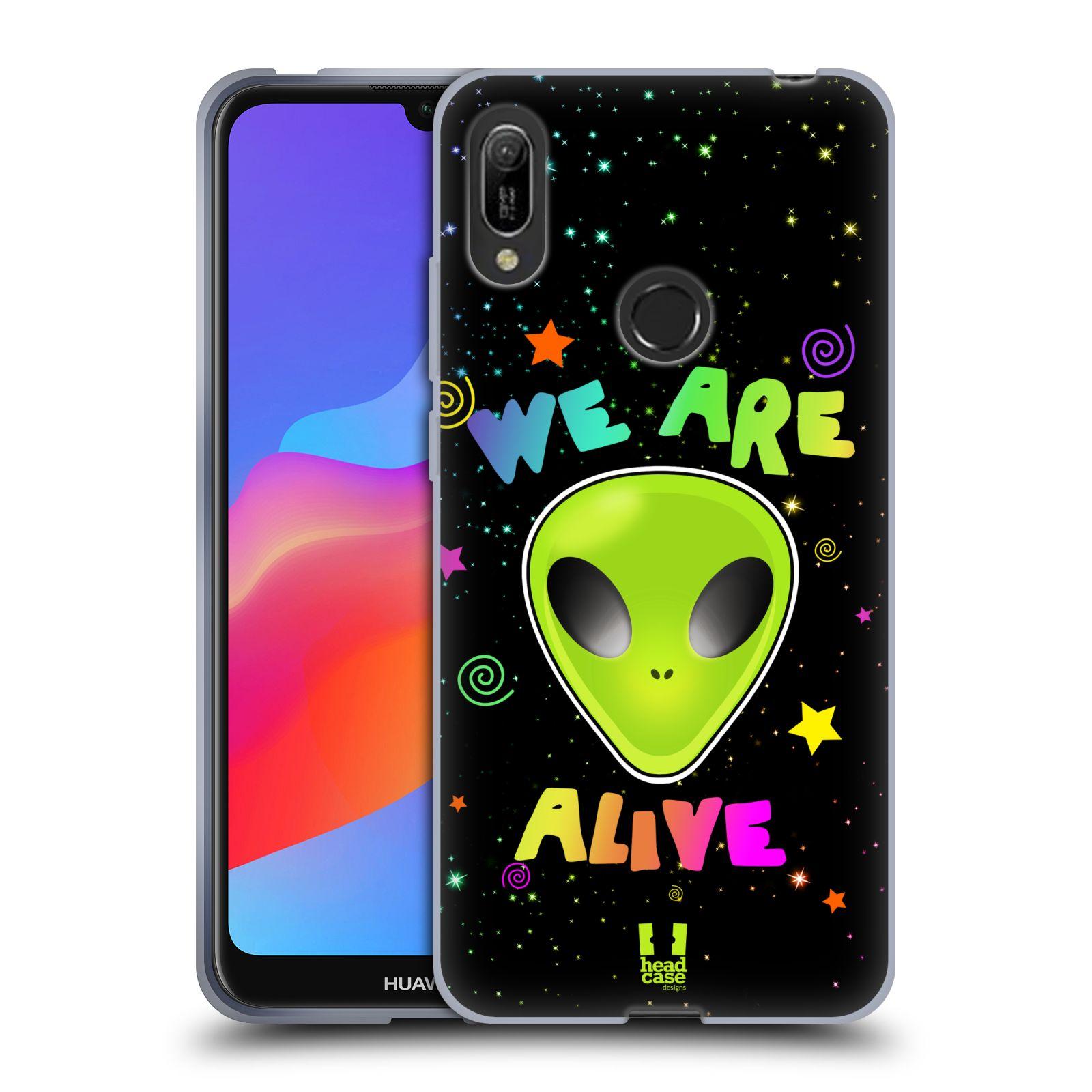 Silikonové pouzdro na mobil Huawei Y6 (2019) - Head Case - ALIENS ALIVE