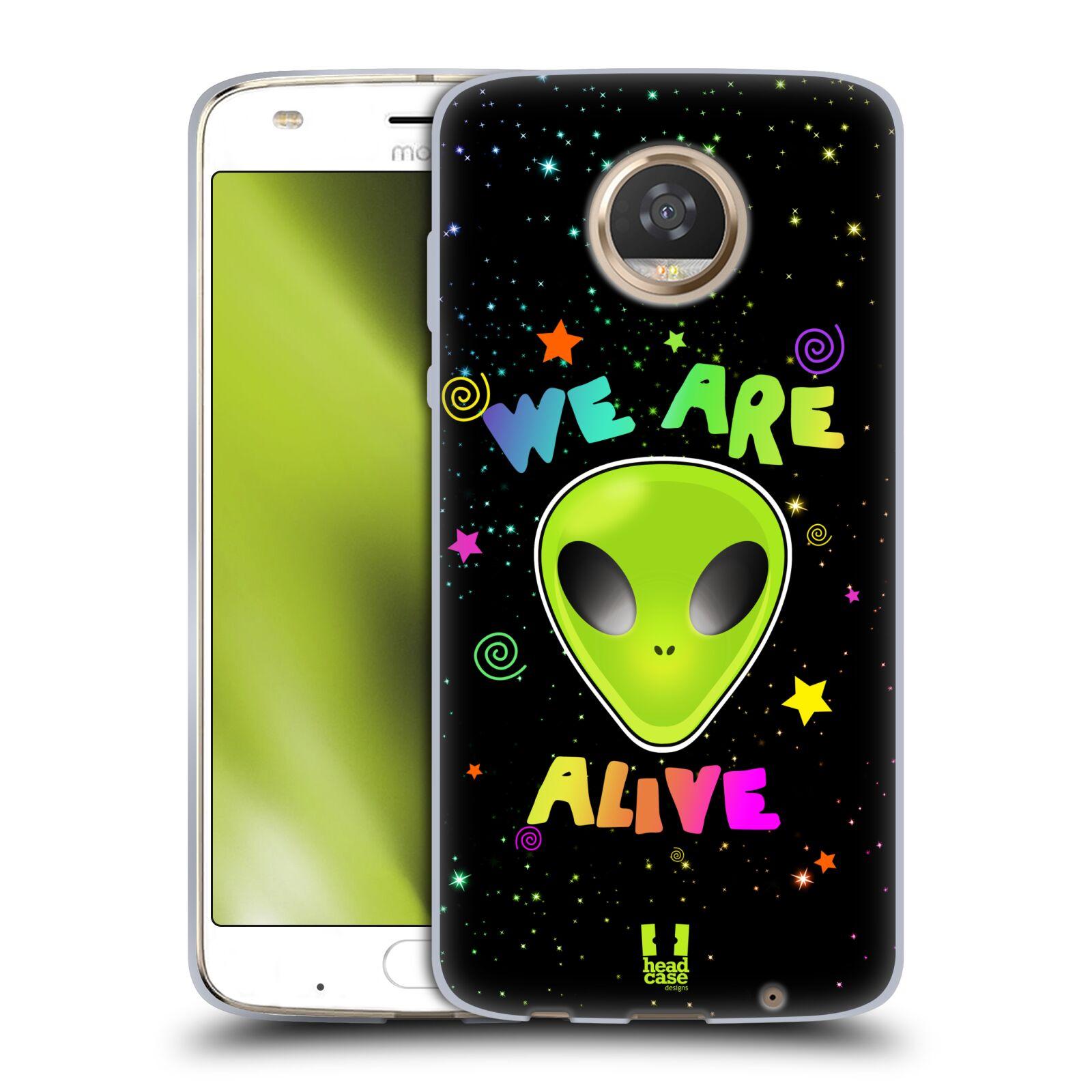 Silikonové pouzdro na mobil Lenovo Moto Z2 Play - Head Case - ALIENS ALIVE