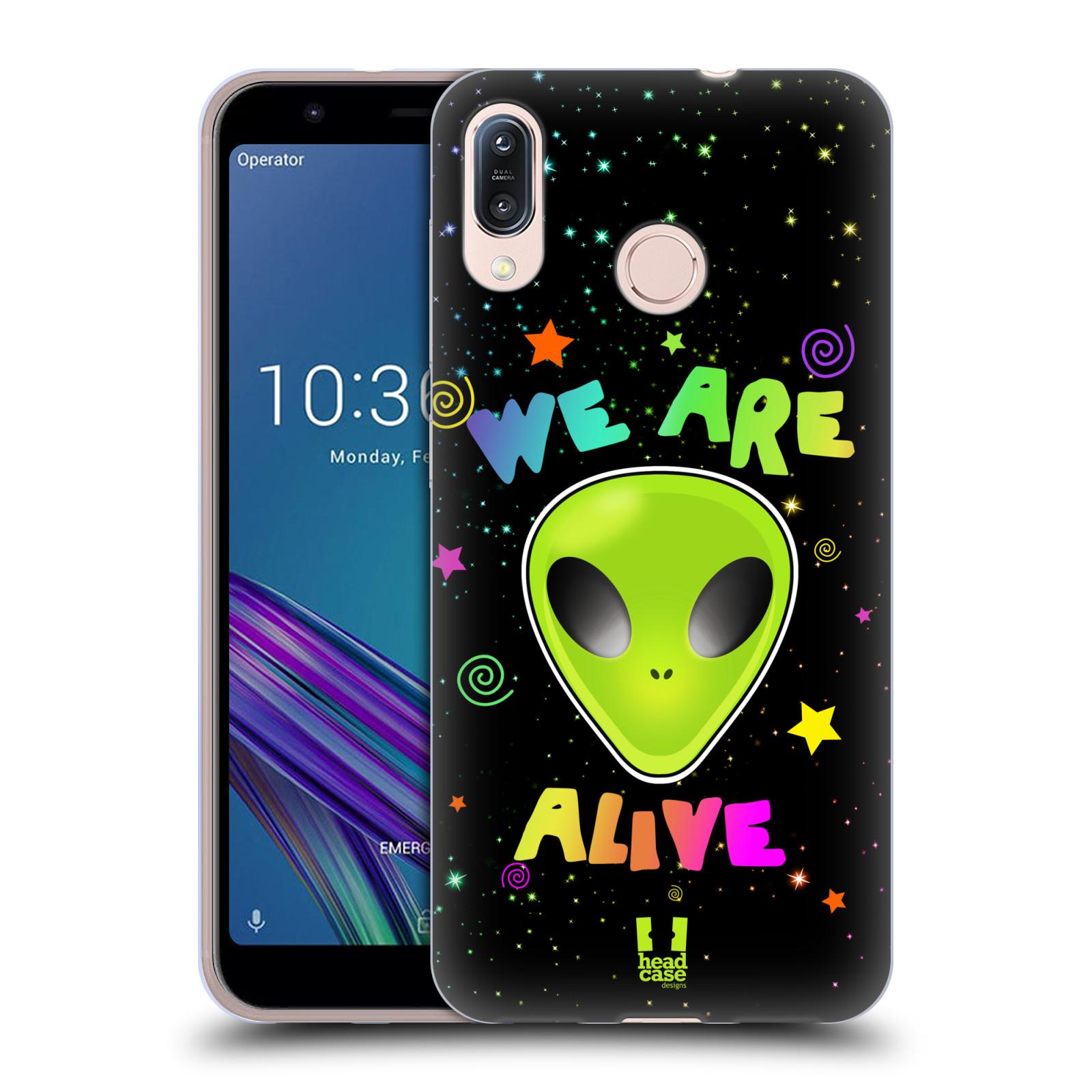 Silikonové pouzdro na mobil Asus Zenfone Max M1 ZB555KL - Head Case - ALIENS ALIVE