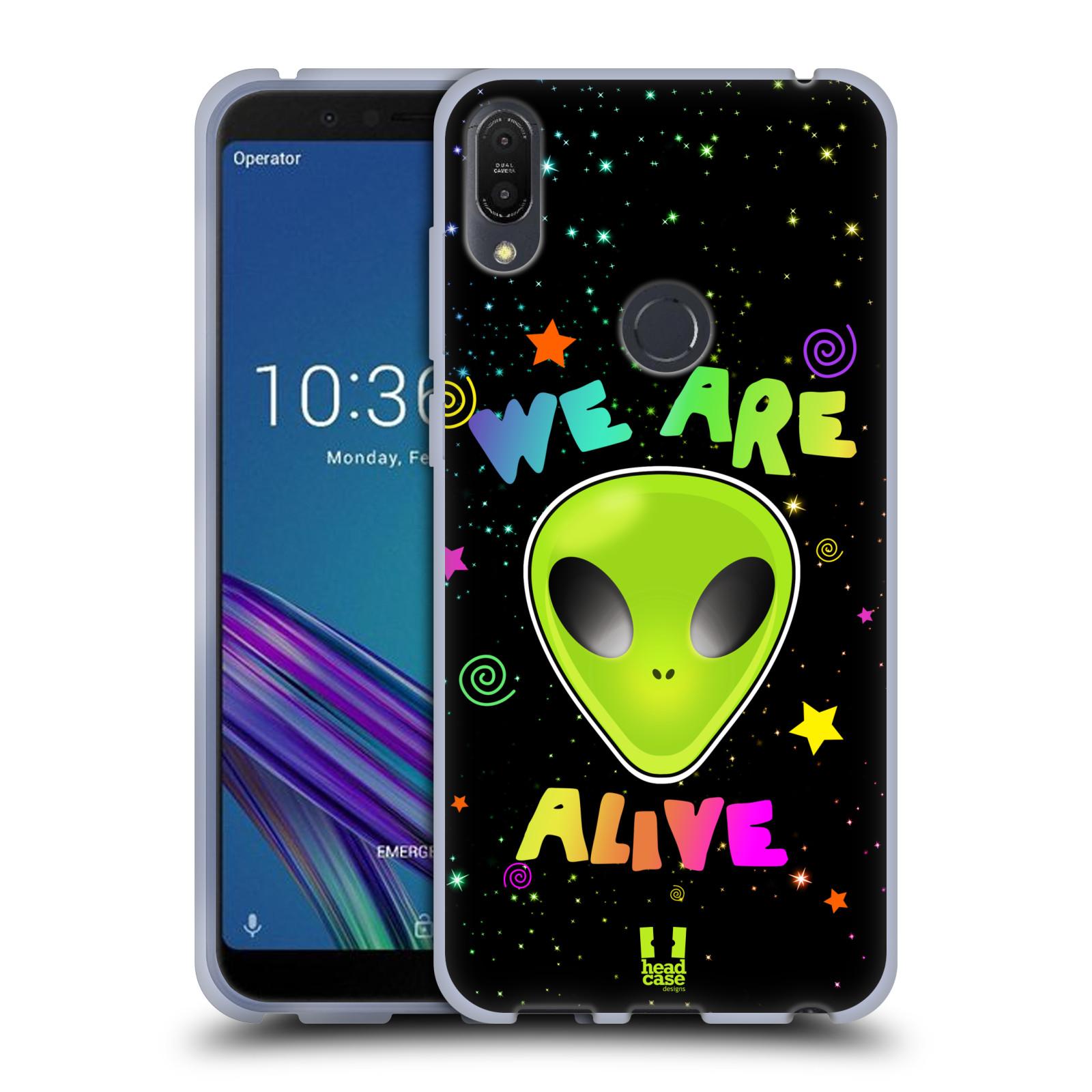 Silikonové pouzdro na mobil Asus ZenFone Max Pro (M1) - Head Case - ALIENS ALIVE