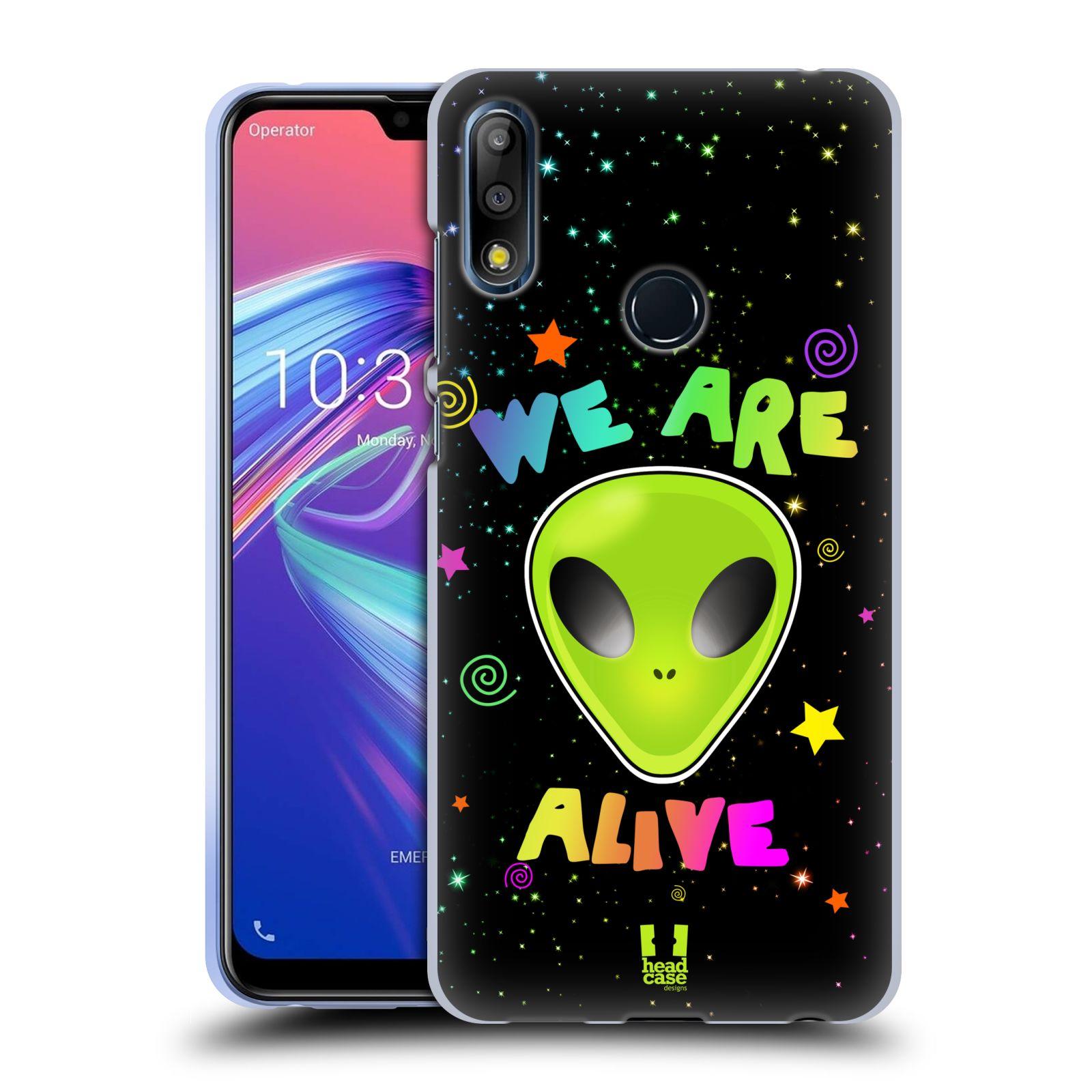 Silikonové pouzdro na mobil Asus Zenfone Max Pro M2 ZB631KL - Head Case - ALIENS ALIVE