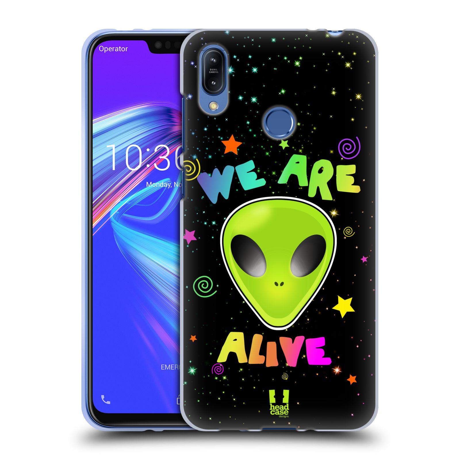 Silikonové pouzdro na mobil Asus Zenfone Max (M2) ZB633KL - Head Case - ALIENS ALIVE