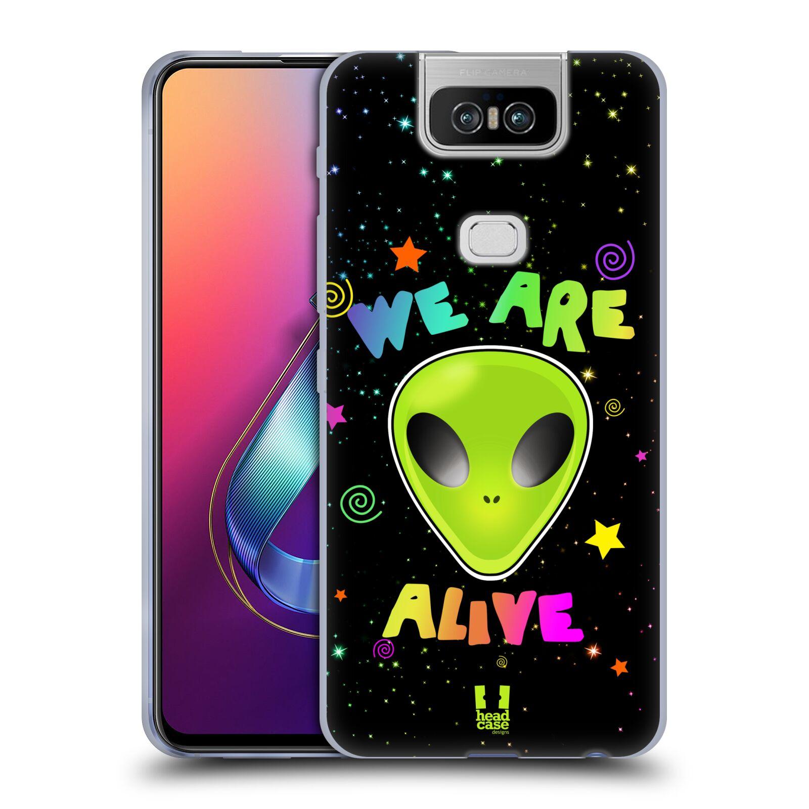 Silikonové pouzdro na mobil Asus Zenfone 6 ZS630KL - Head Case - ALIENS ALIVE