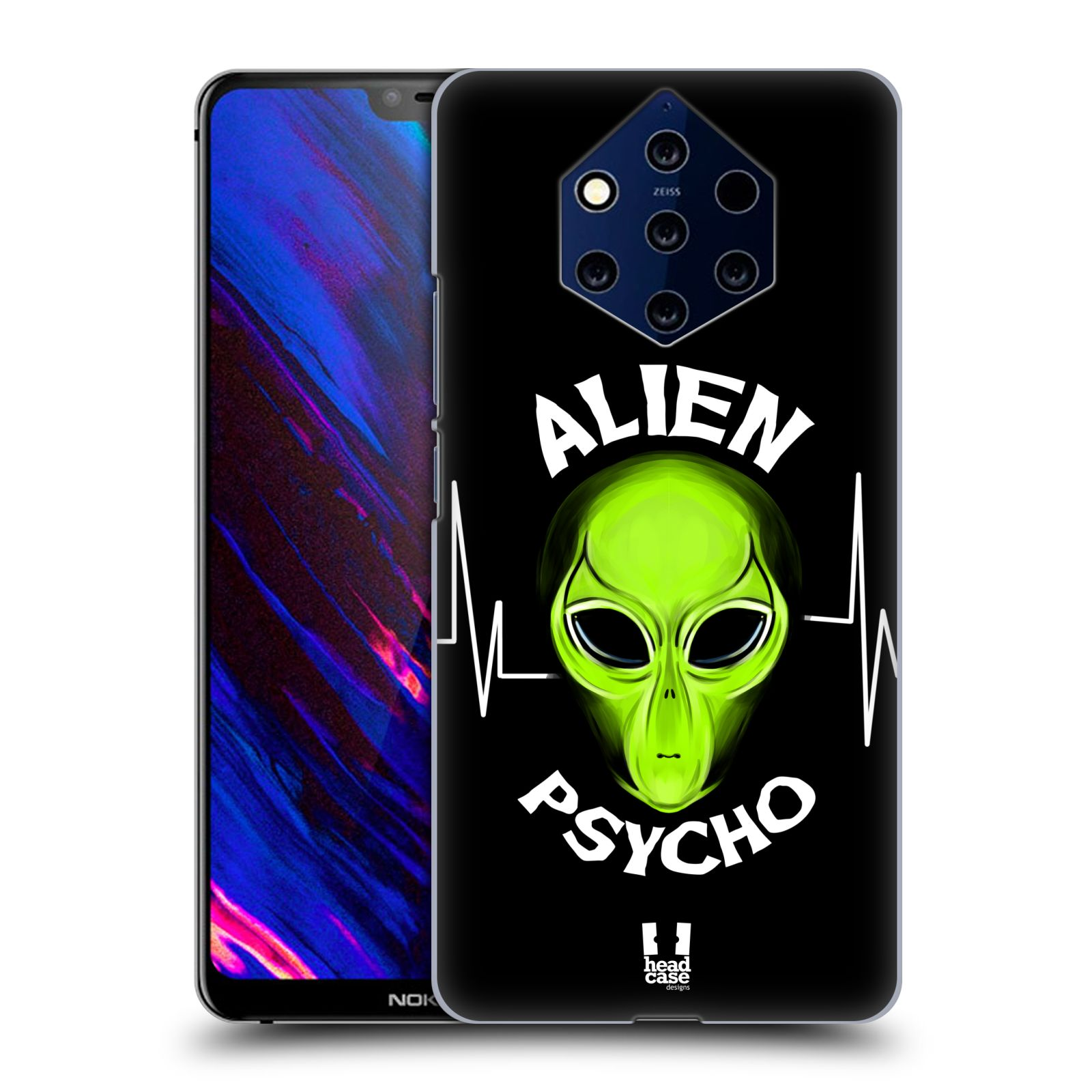 Plastové pouzdro na mobil Nokia 9 PureView - Head Case - ALIENS PSYCHO