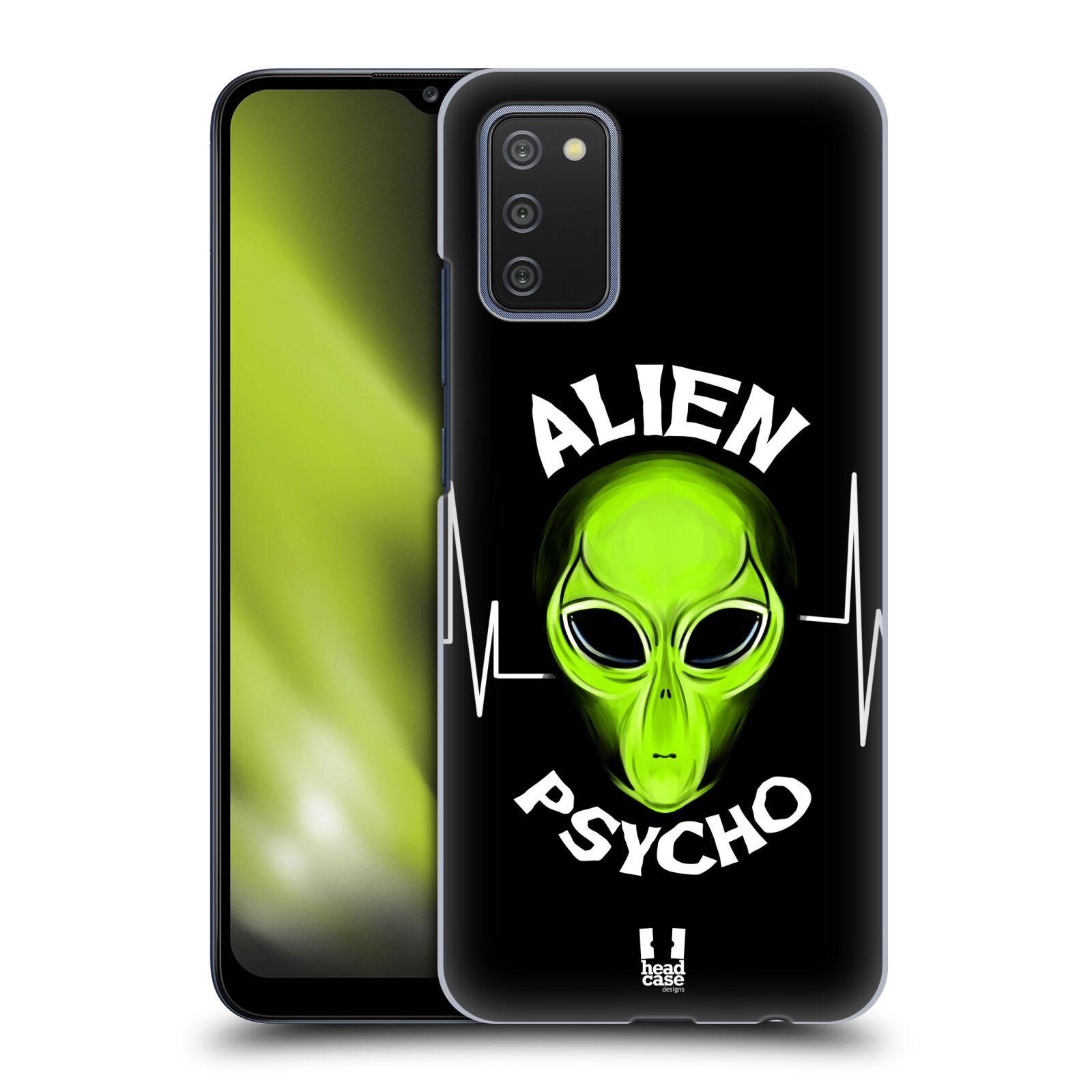Plastové pouzdro na mobil Samsung Galaxy A02s - Head Case - ALIENS PSYCHO
