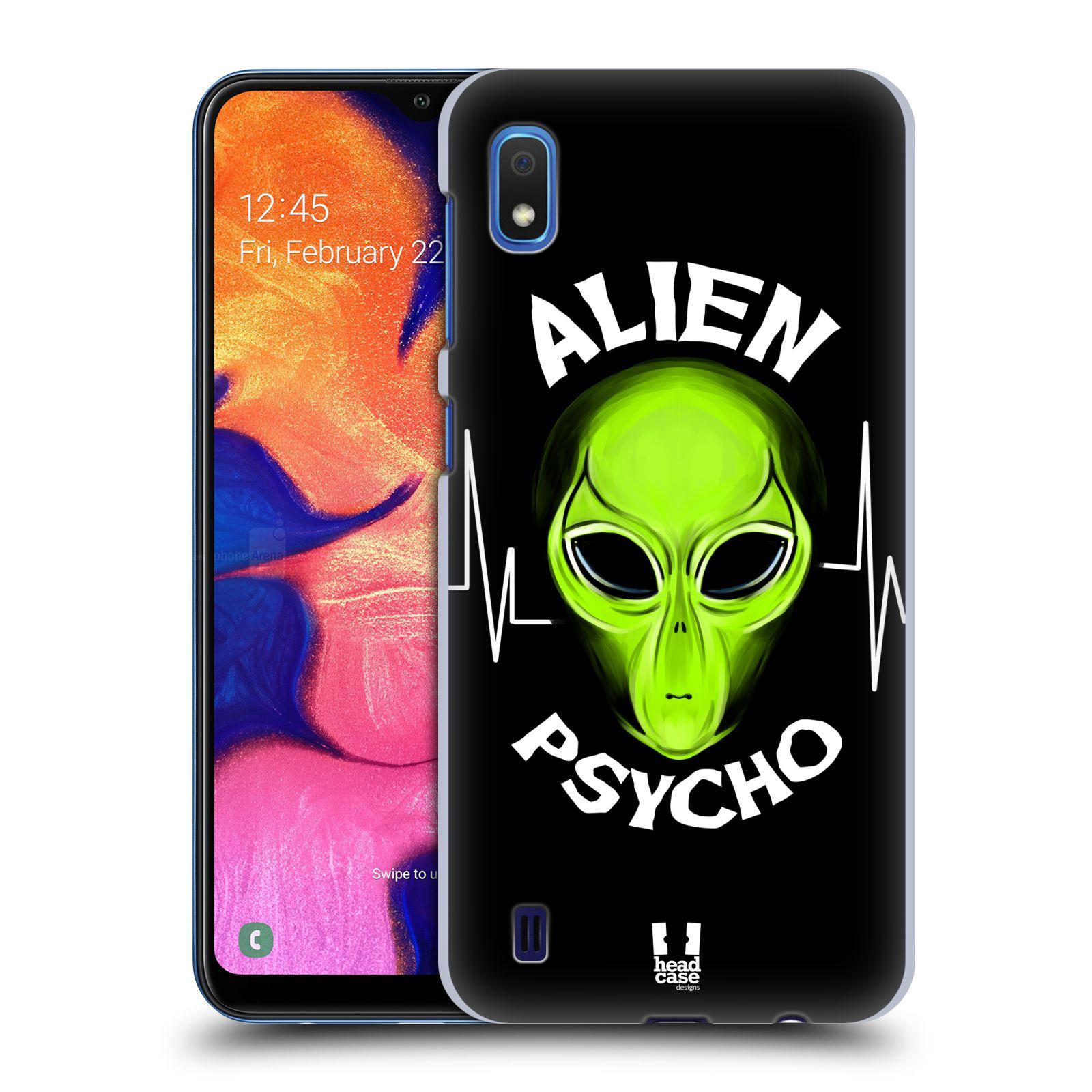 Plastové pouzdro na mobil Samsung Galaxy A10 - Head Case - ALIENS PSYCHO