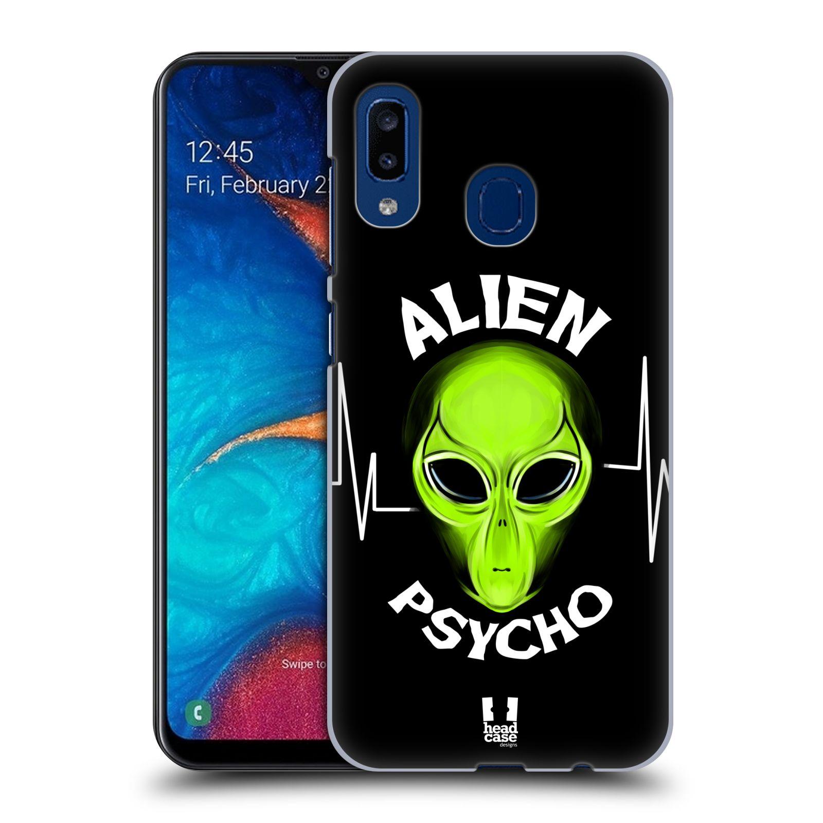 Plastové pouzdro na mobil Samsung Galaxy A20 - Head Case - ALIENS PSYCHO