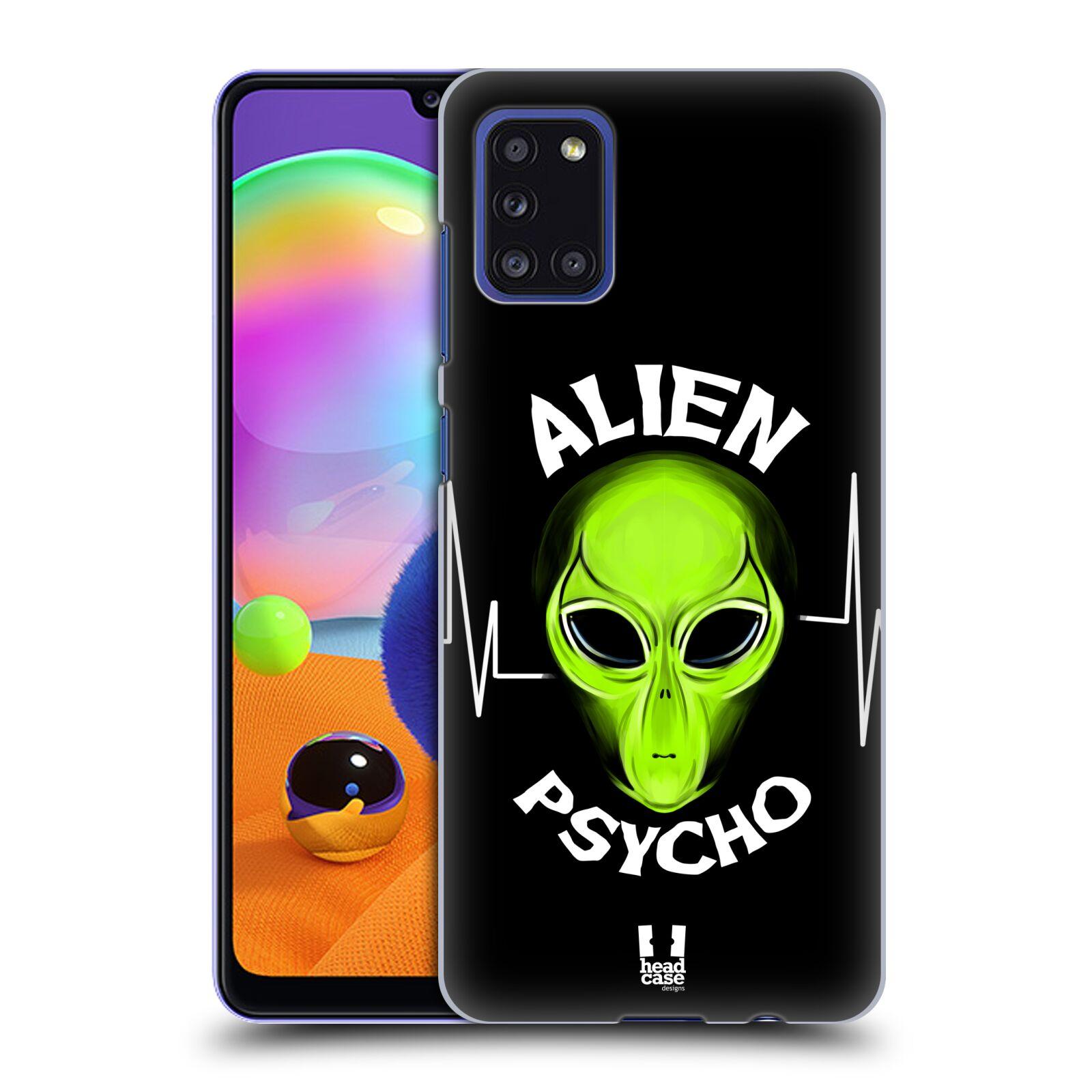 Plastové pouzdro na mobil Samsung Galaxy A31 - Head Case - ALIENS PSYCHO
