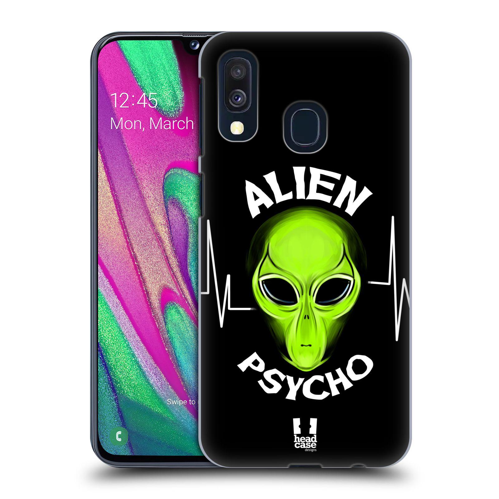 Plastové pouzdro na mobil Samsung Galaxy A40 - Head Case - ALIENS PSYCHO