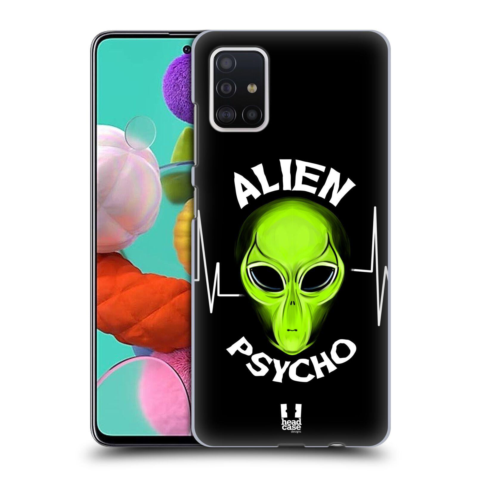 Plastové pouzdro na mobil Samsung Galaxy A51 - Head Case - ALIENS PSYCHO