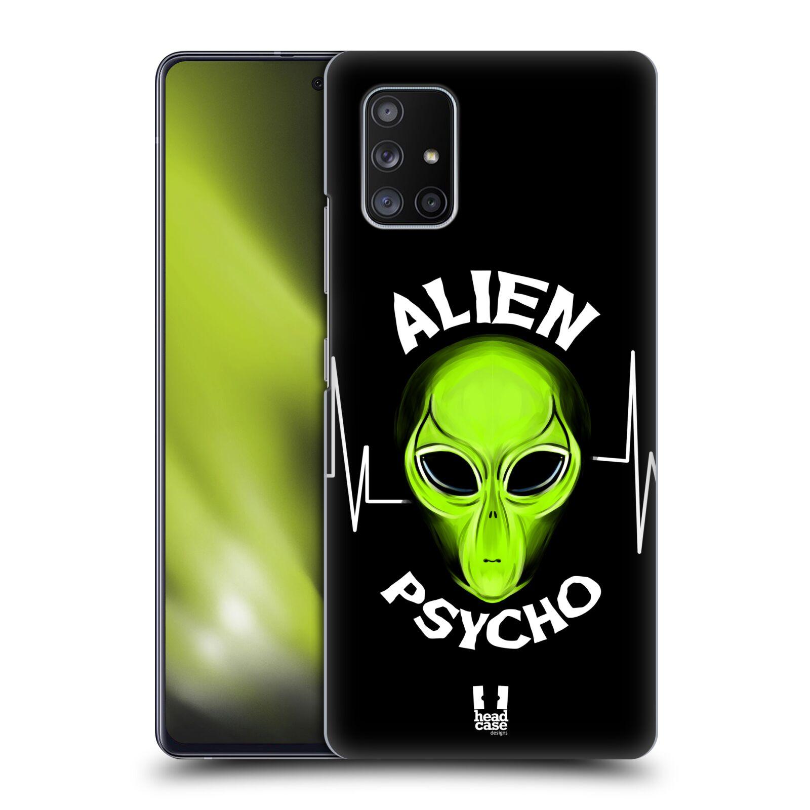 Plastové pouzdro na mobil Samsung Galaxy A51 5G - Head Case - ALIENS PSYCHO
