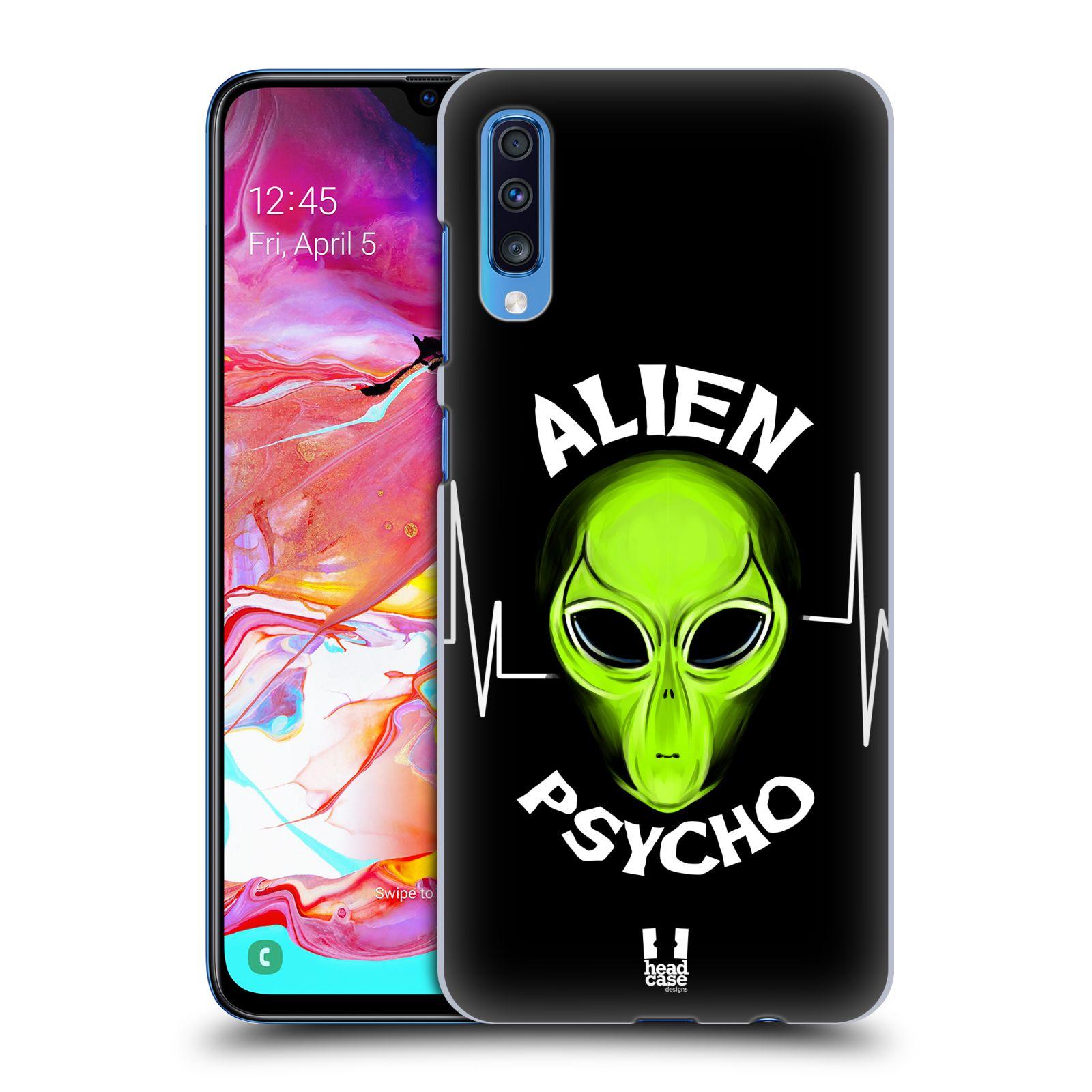 Plastové pouzdro na mobil Samsung Galaxy A70 - Head Case - ALIENS PSYCHO