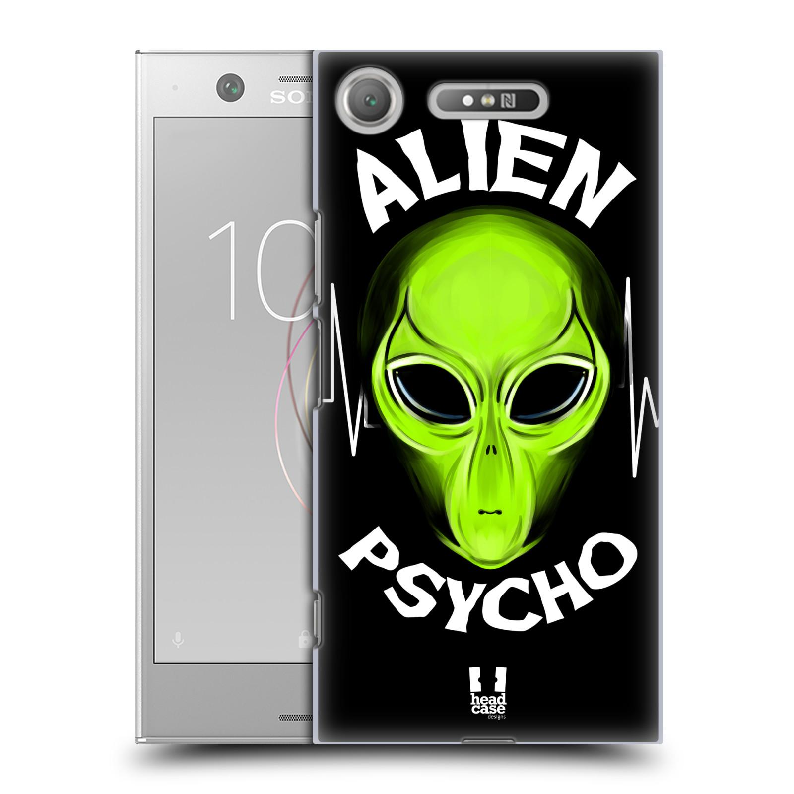Plastové pouzdro na mobil Sony Xperia XZ1 - Head Case - ALIENS PSYCHO