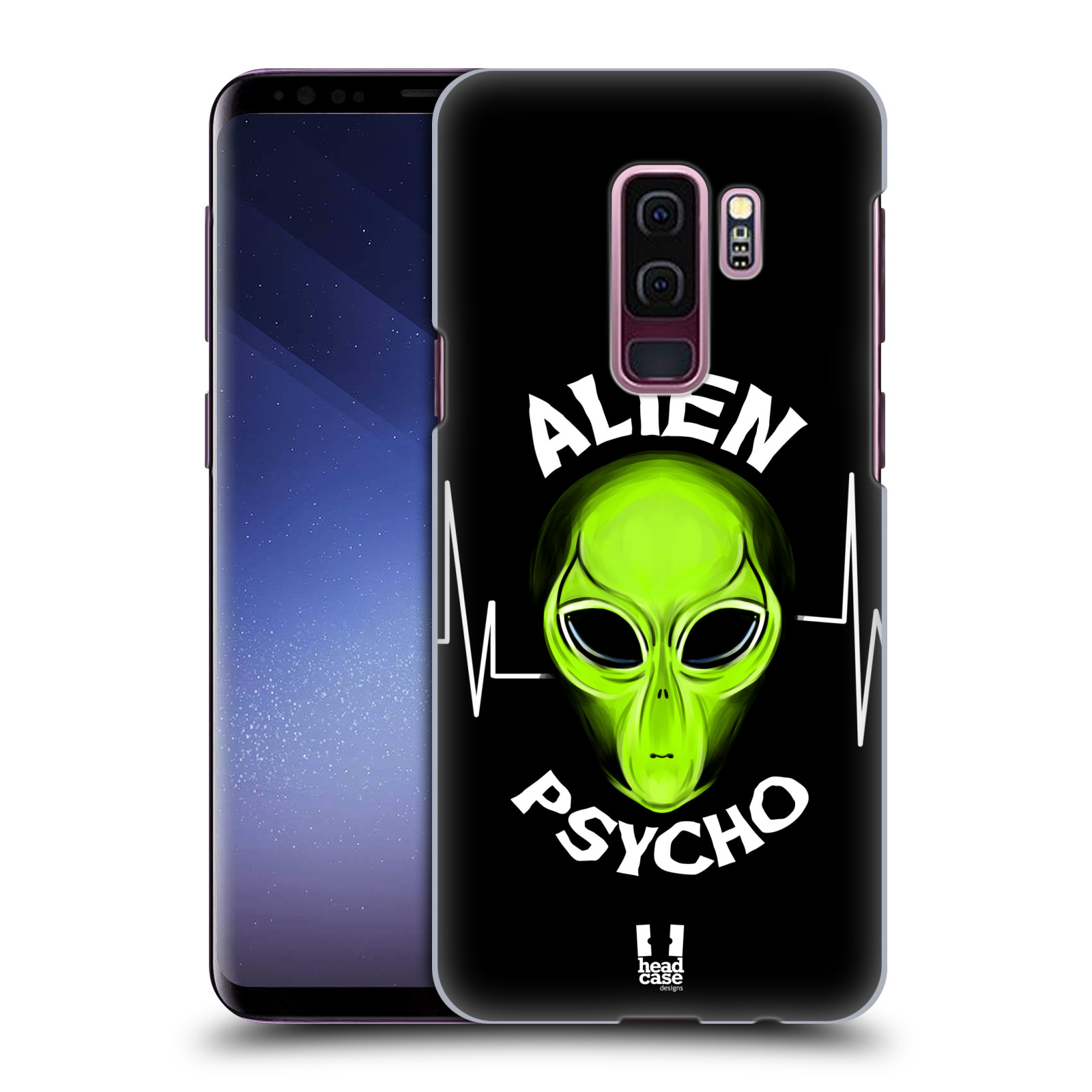 Plastové pouzdro na mobil Samsung Galaxy S9 Plus - Head Case - ALIENS PSYCHO