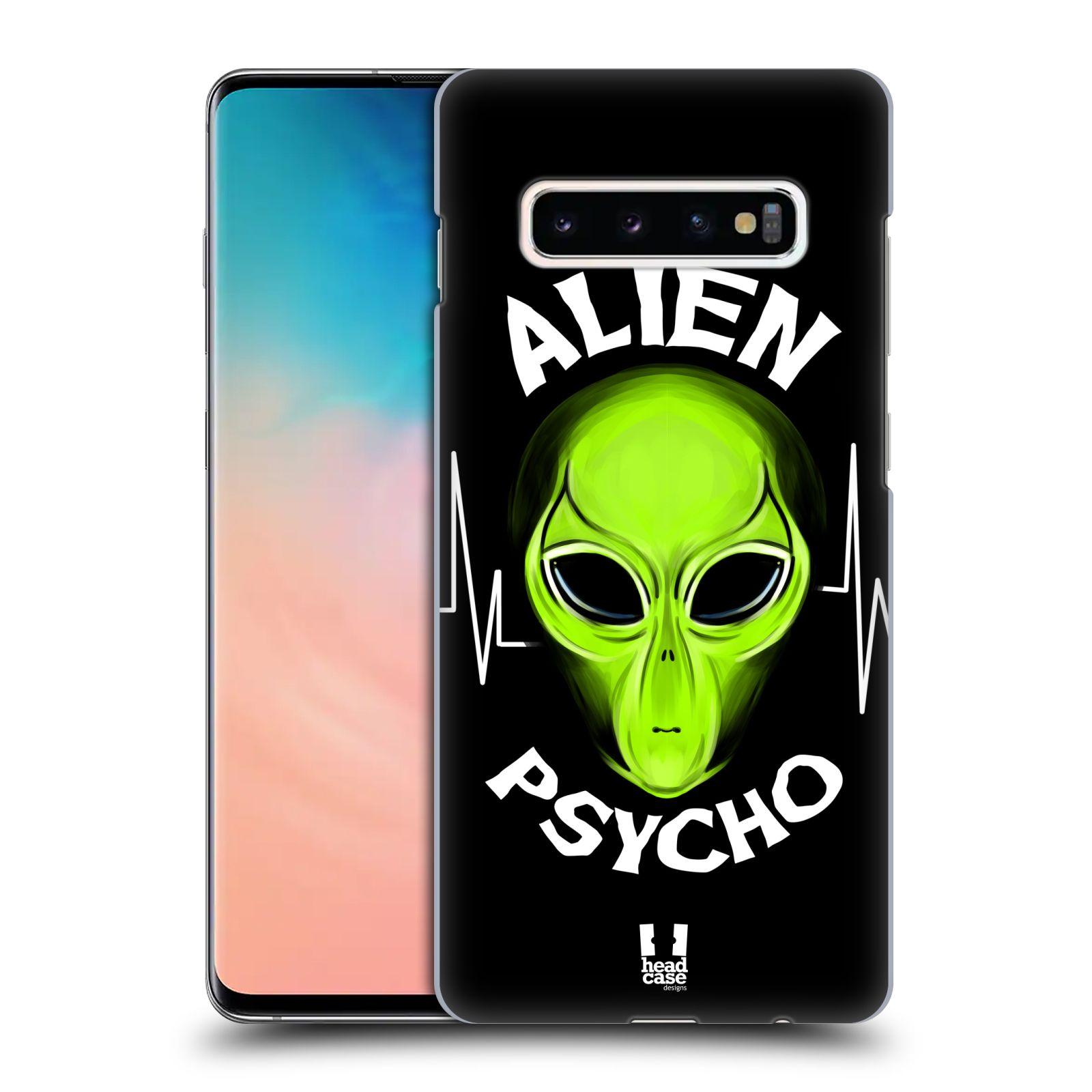 Plastové pouzdro na mobil Samsung Galaxy S10 Plus - Head Case - ALIENS PSYCHO