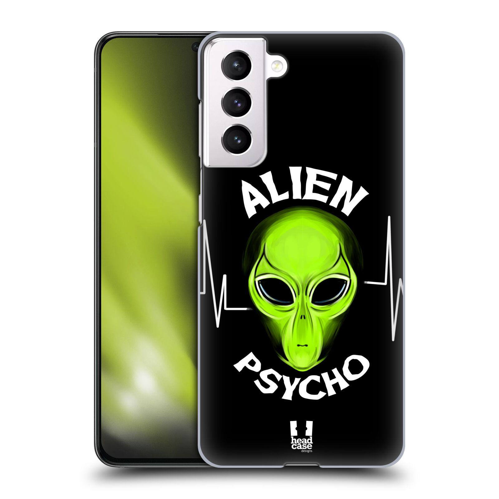 Plastové pouzdro na mobil Samsung Galaxy S21 5G - Head Case - ALIENS PSYCHO