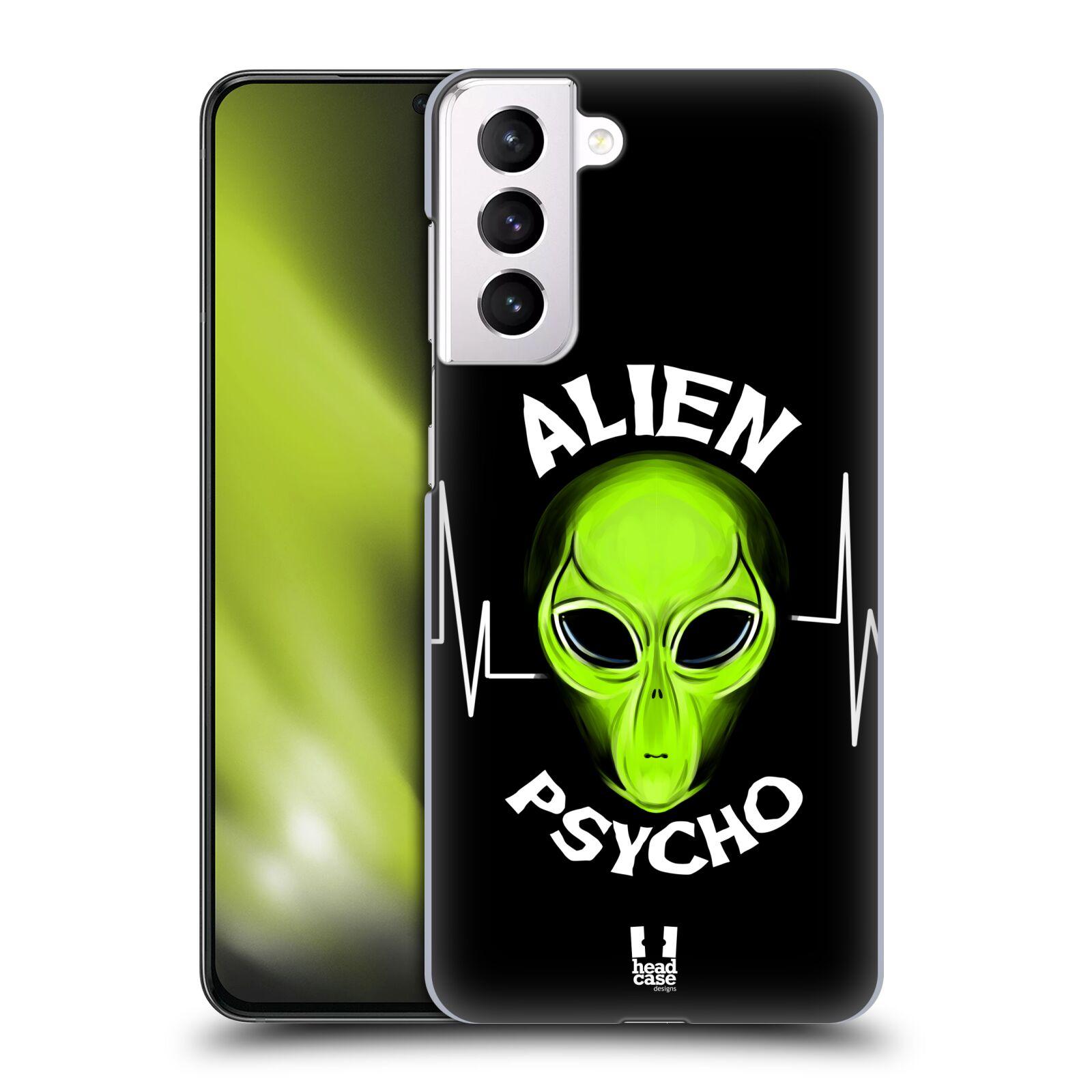 Plastové pouzdro na mobil Samsung Galaxy S21 Plus 5G - Head Case - ALIENS PSYCHO