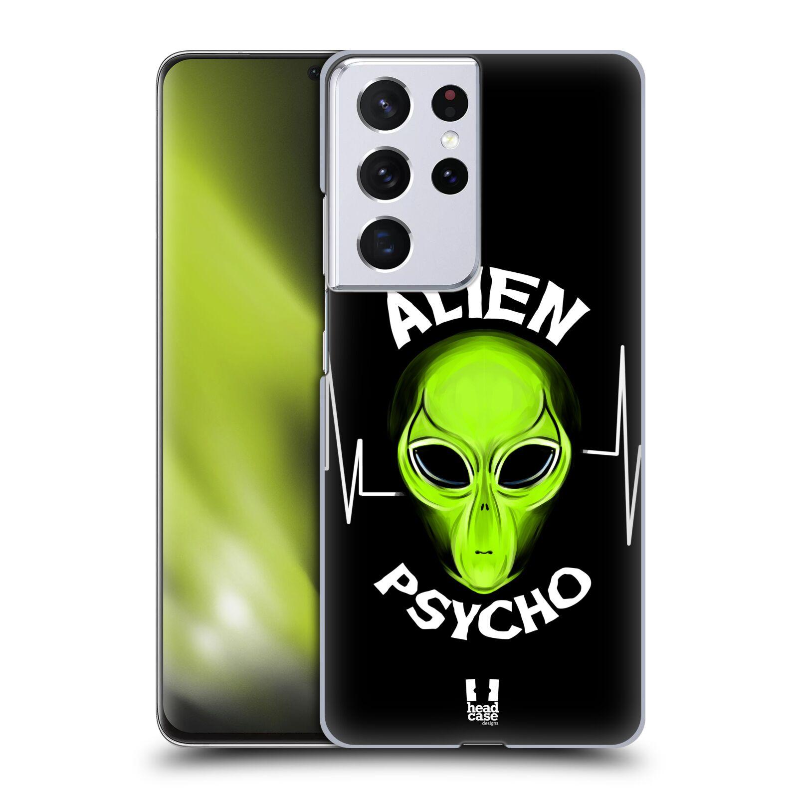 Plastové pouzdro na mobil Samsung Galaxy S21 Ultra 5G - Head Case - ALIENS PSYCHO