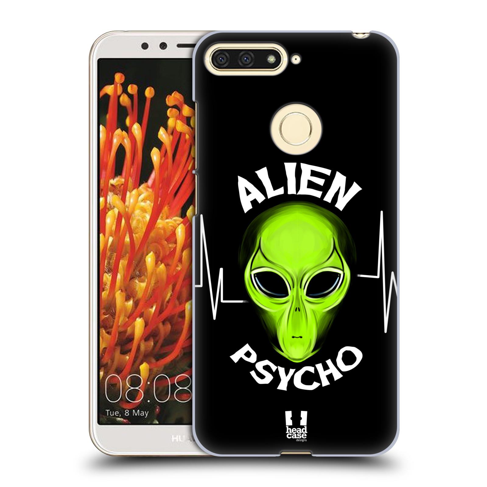 Plastové pouzdro na mobil Huawei Y6 Prime 2018 - Head Case - ALIENS PSYCHO