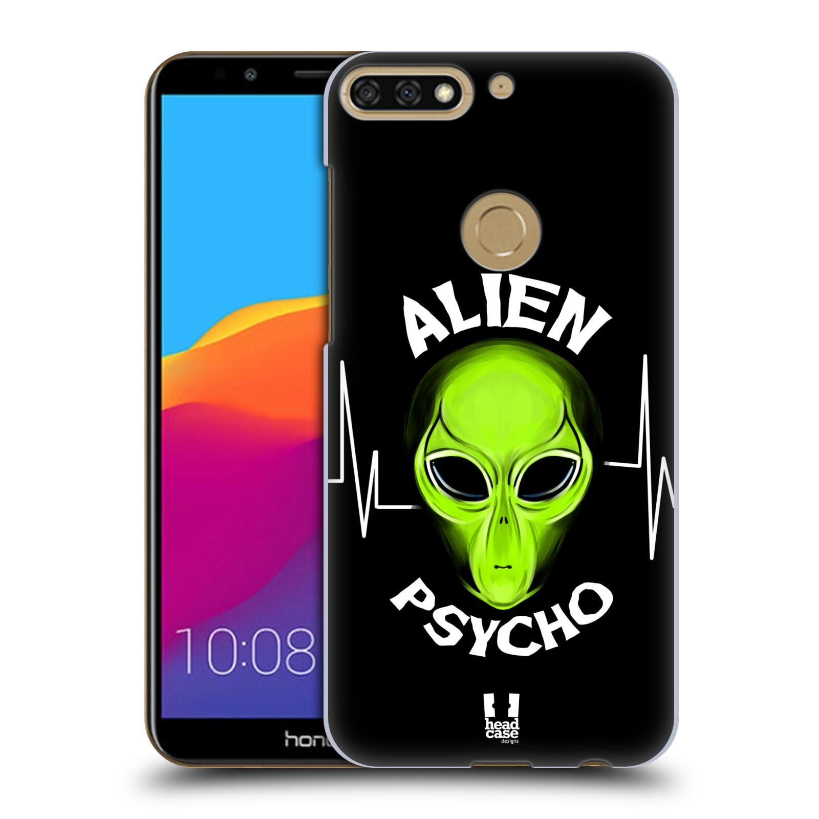 Plastové pouzdro na mobil Huawei Y7 Prime 2018 - Head Case - ALIENS PSYCHO
