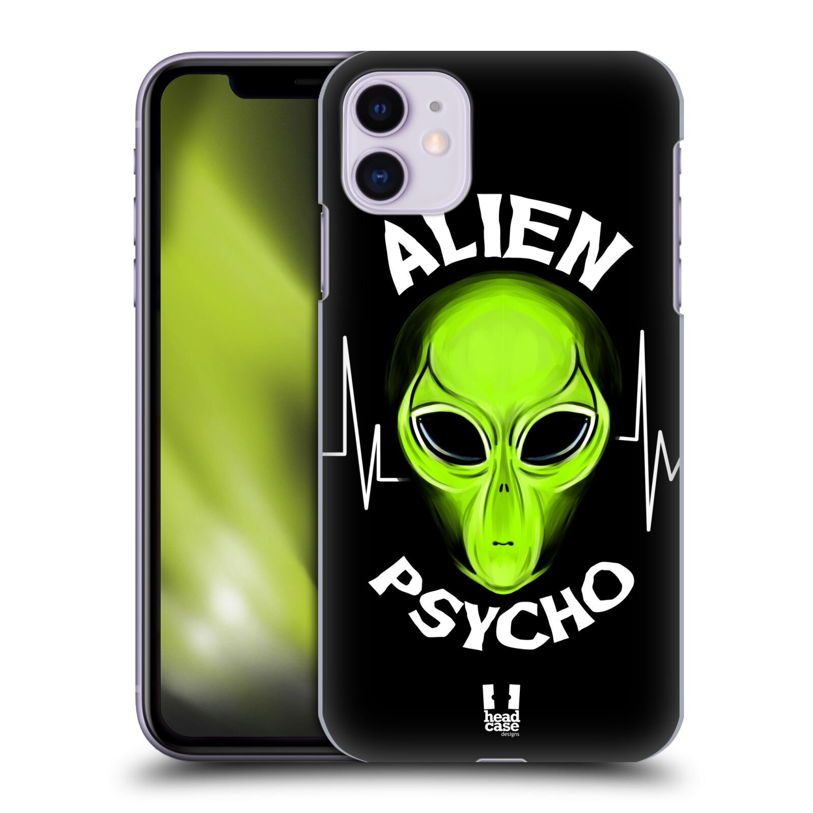 Plastové pouzdro na mobil Apple iPhone 11 - Head Case - ALIENS PSYCHO