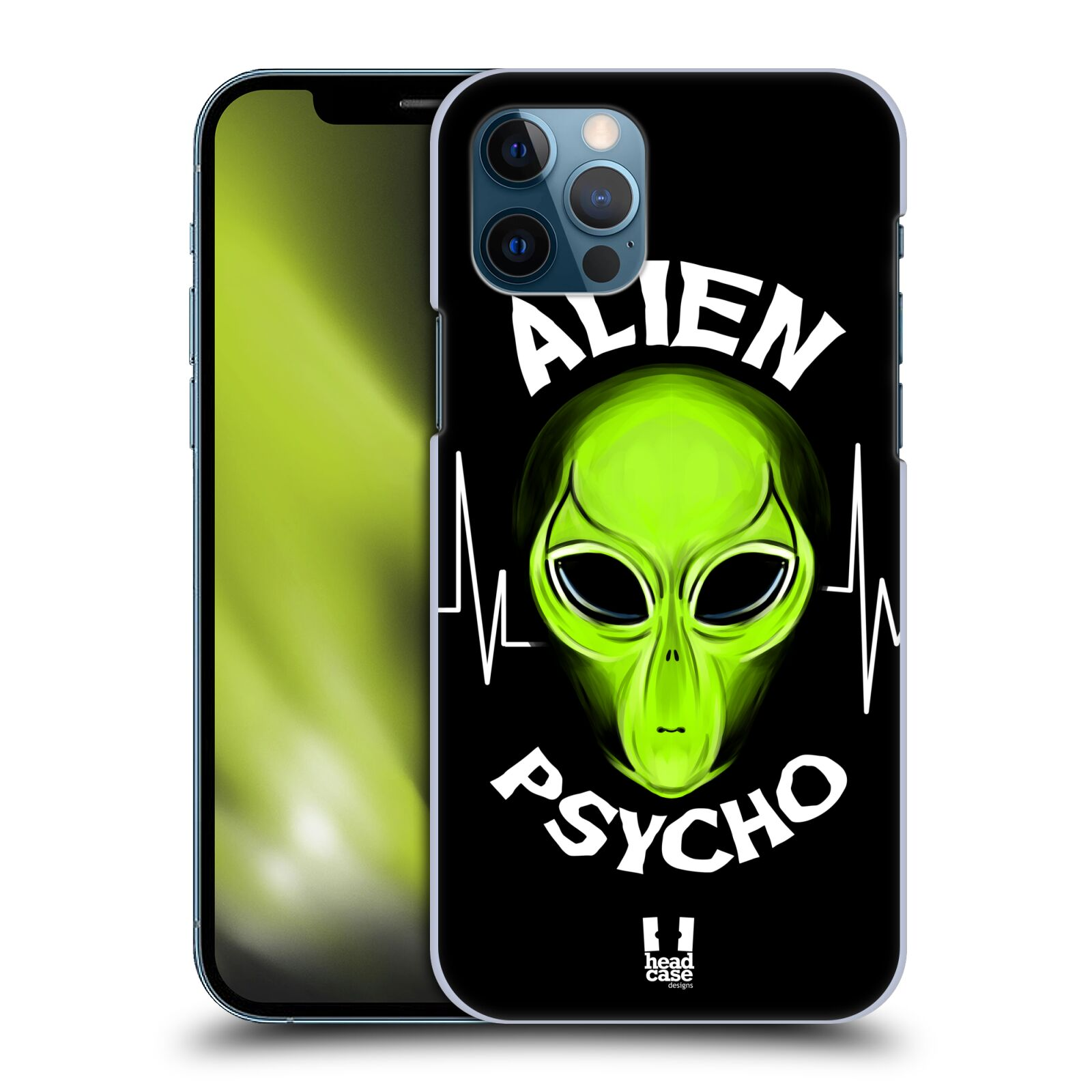 Plastové pouzdro na mobil Apple iPhone 12 / 12 Pro - Head Case - ALIENS PSYCHO
