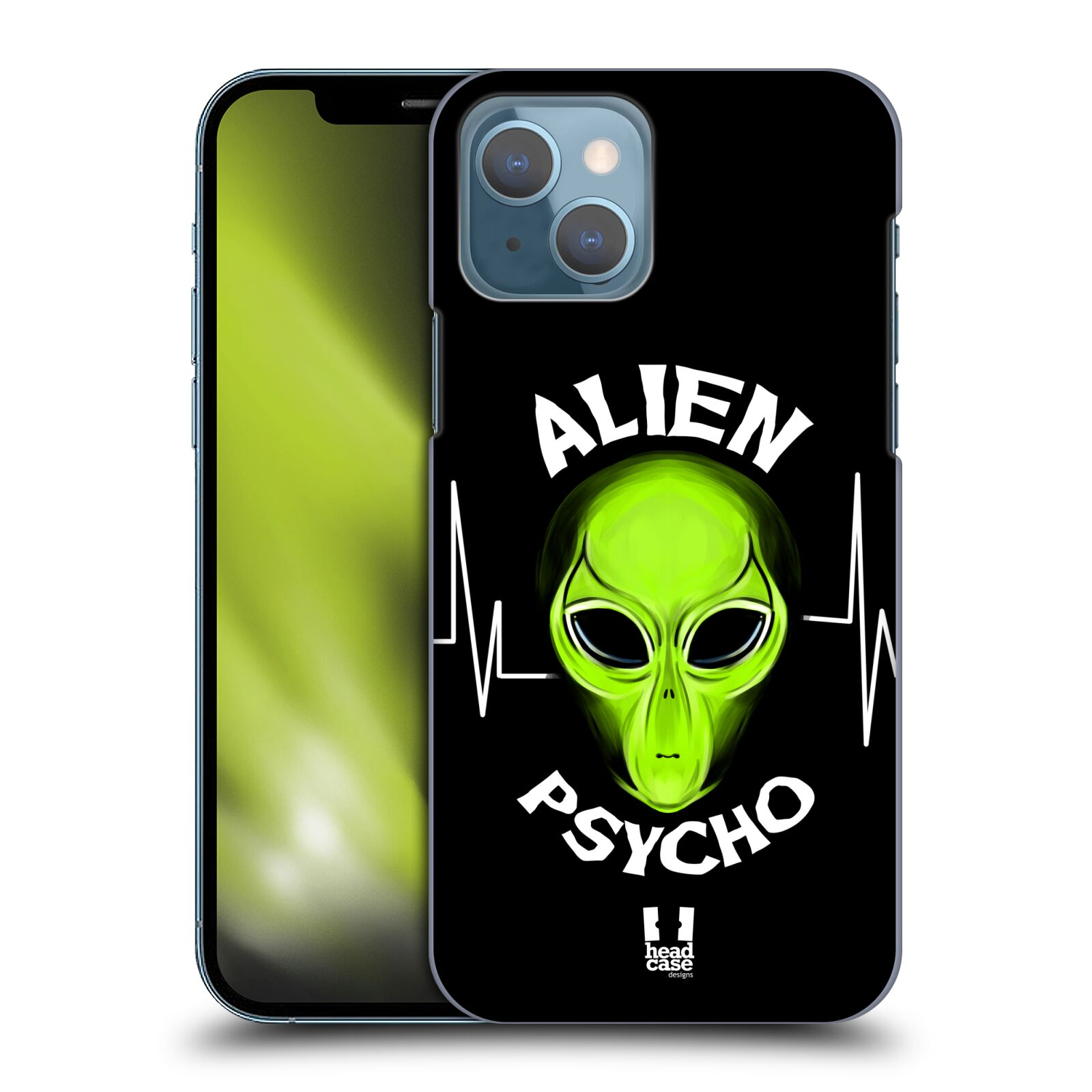 Plastové pouzdro na mobil Apple iPhone 13 - Head Case - ALIENS PSYCHO
