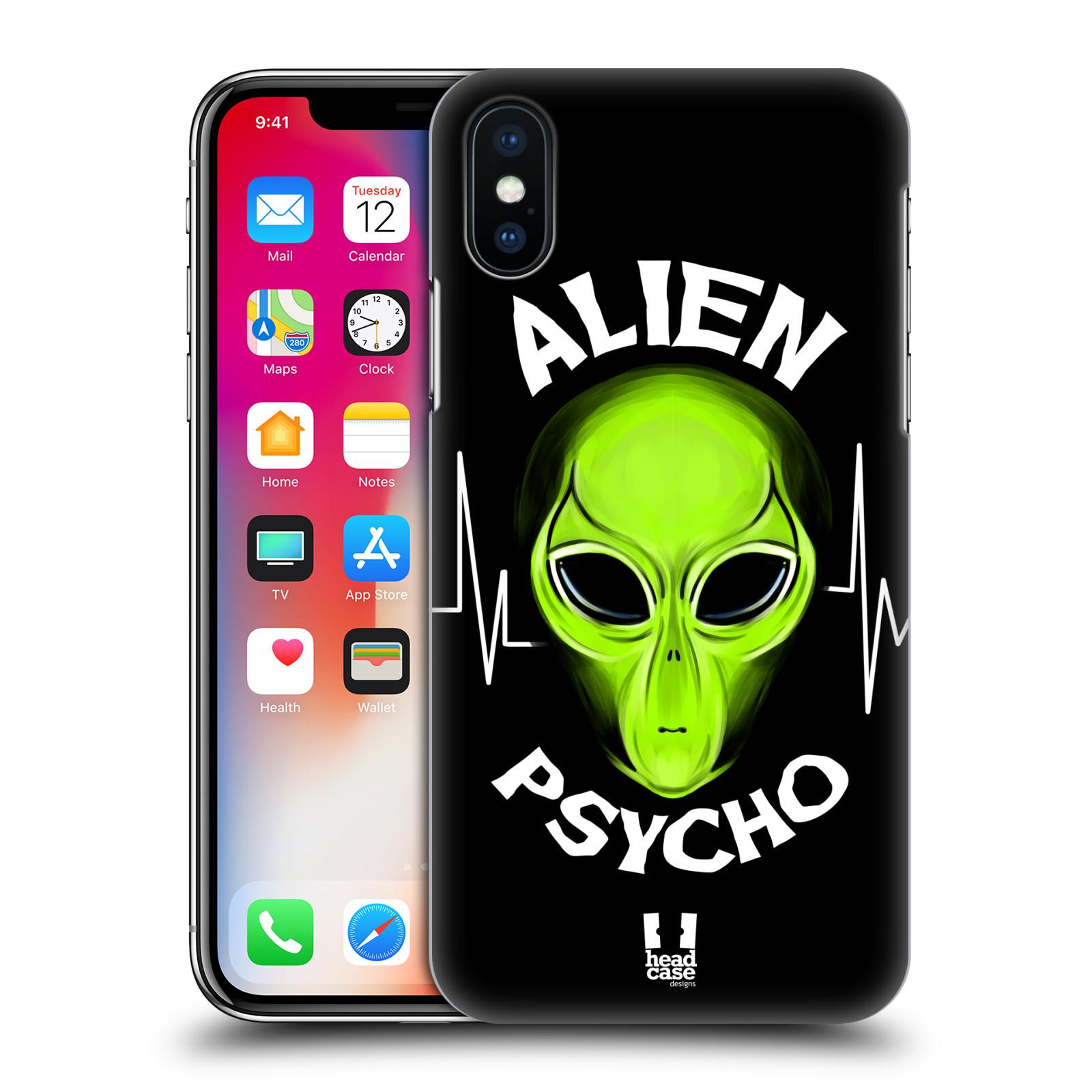 Plastové pouzdro na mobil Apple iPhone X - Head Case - ALIENS PSYCHO