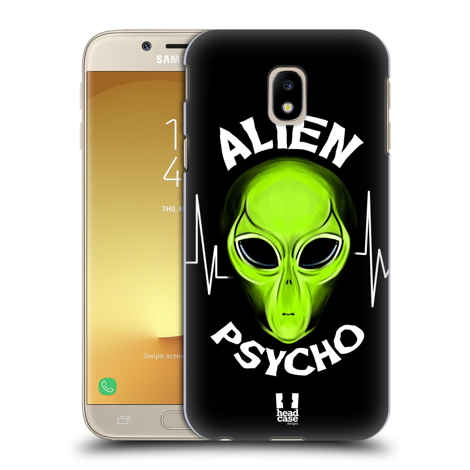 Plastové pouzdro na mobil Samsung Galaxy J3 (2017) - Head Case - ALIENS PSYCHO