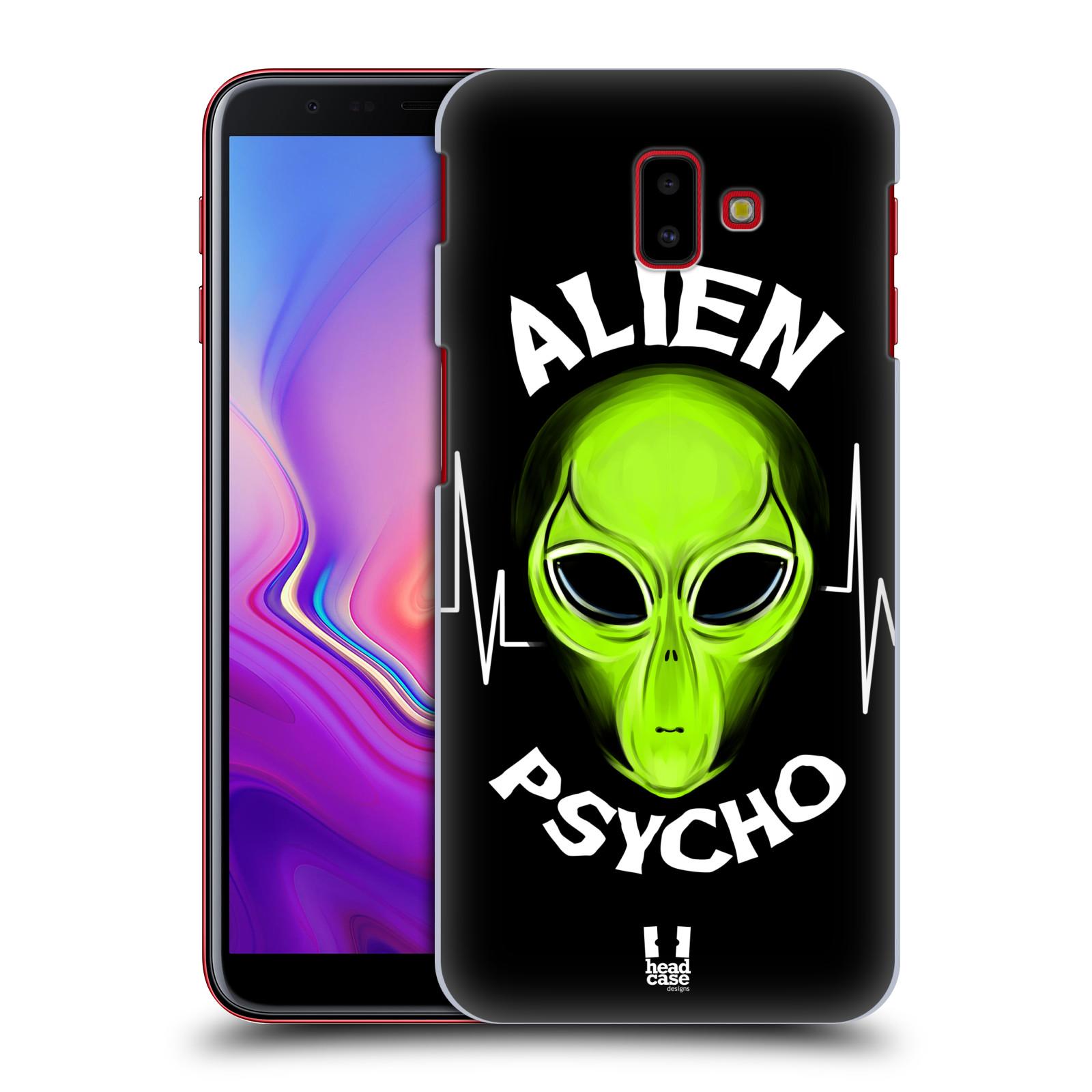 Plastové pouzdro na mobil Samsung Galaxy J6 Plus - Head Case - ALIENS PSYCHO