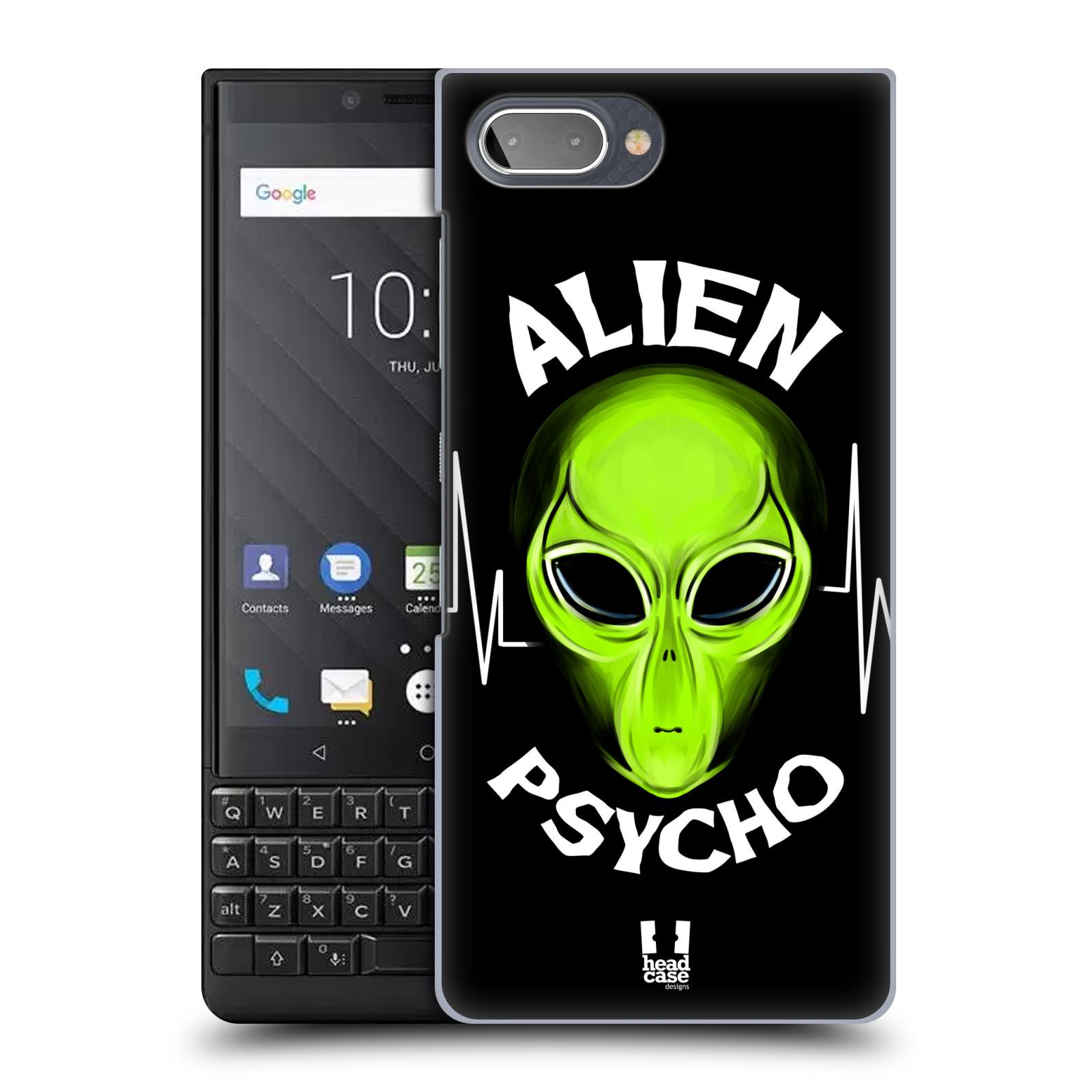 Plastové pouzdro na mobil Blackberry Key 2 - Head Case - ALIENS PSYCHO