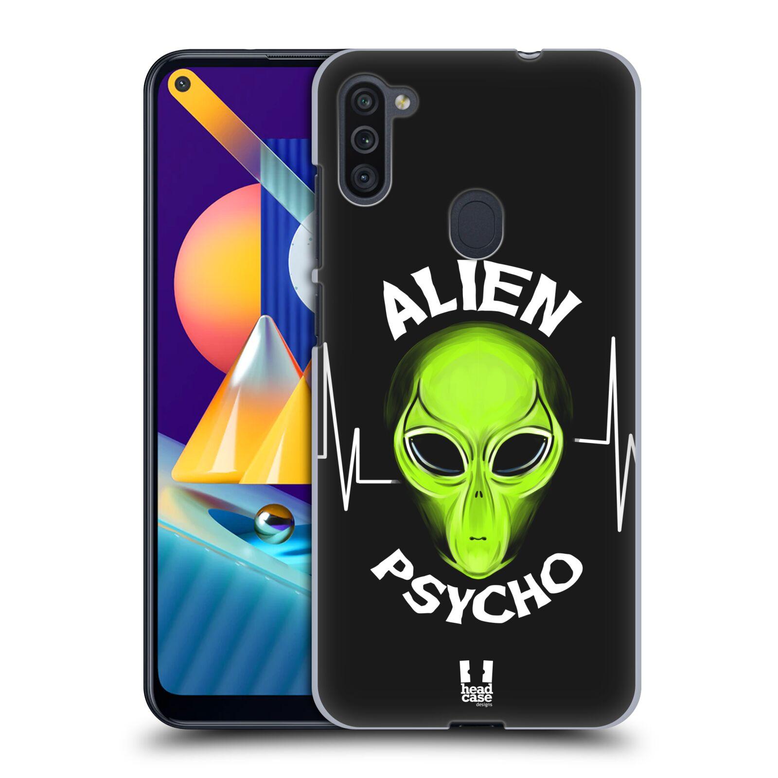 Plastové pouzdro na mobil Samsung Galaxy M11 - Head Case - ALIENS PSYCHO