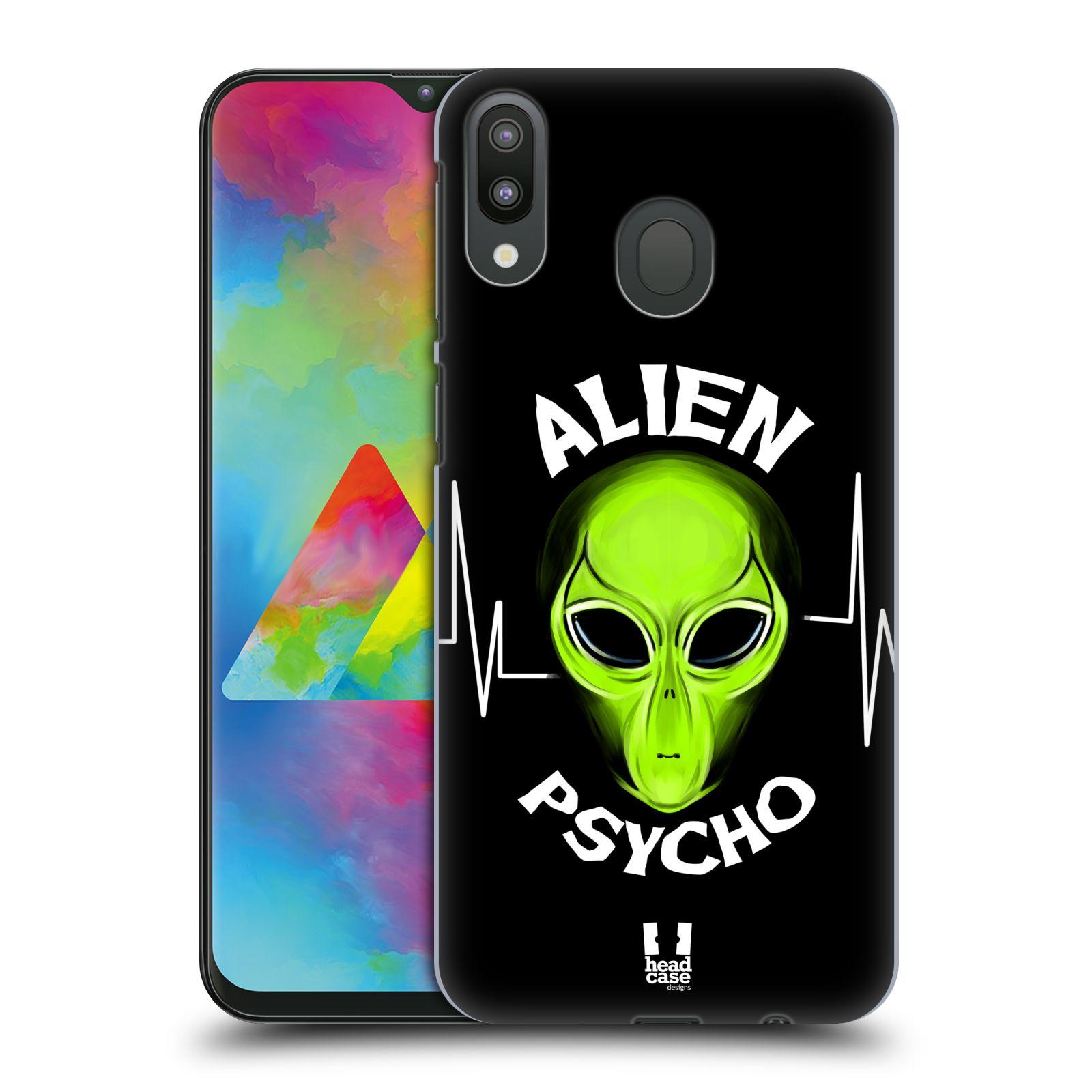Plastové pouzdro na mobil Samsung Galaxy M20 - Head Case - ALIENS PSYCHO