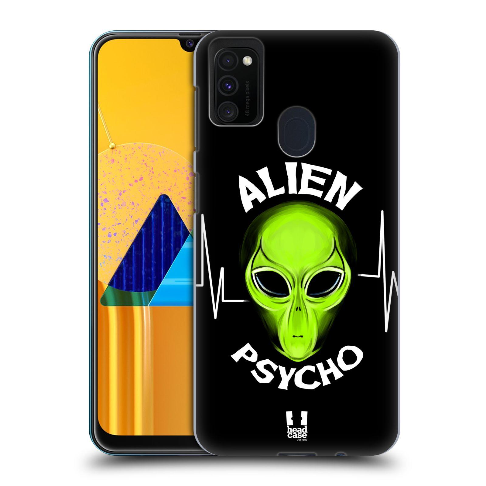 Plastové pouzdro na mobil Samsung Galaxy M21 - Head Case - ALIENS PSYCHO