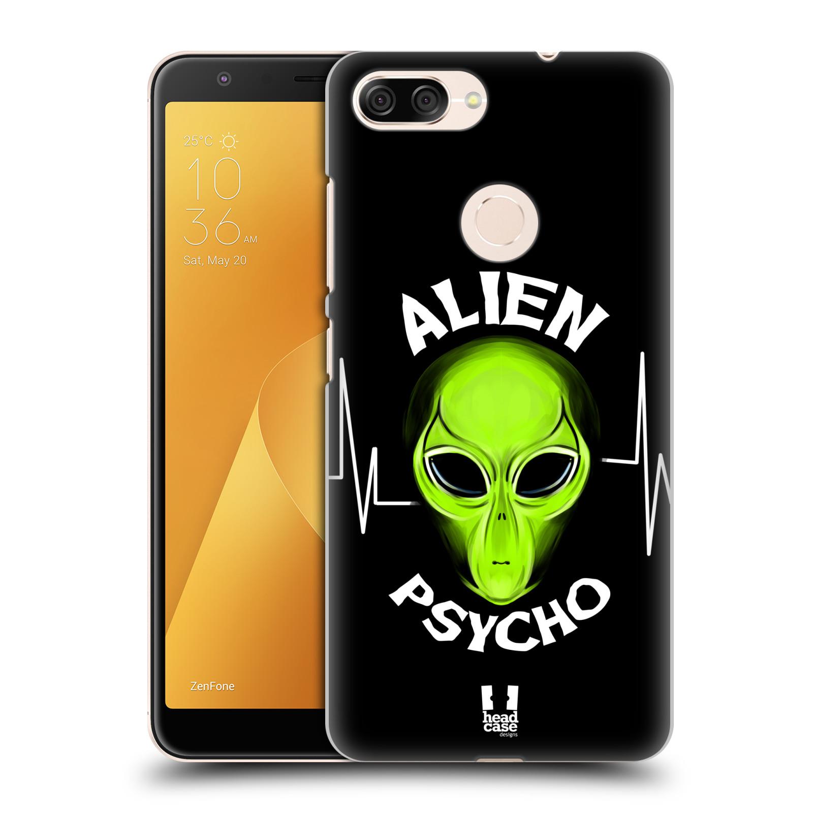 Plastové pouzdro na mobil Asus ZenFone Max Plus (M1) - Head Case - ALIENS PSYCHO
