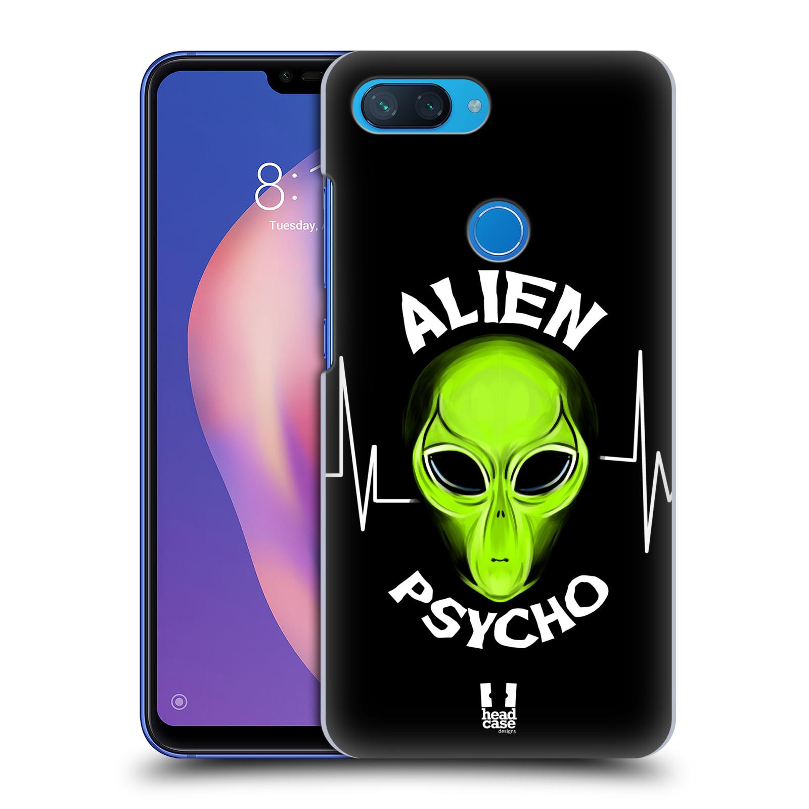 Plastové pouzdro na mobil Xiaomi Mi 8 Lite - Head Case - ALIENS PSYCHO