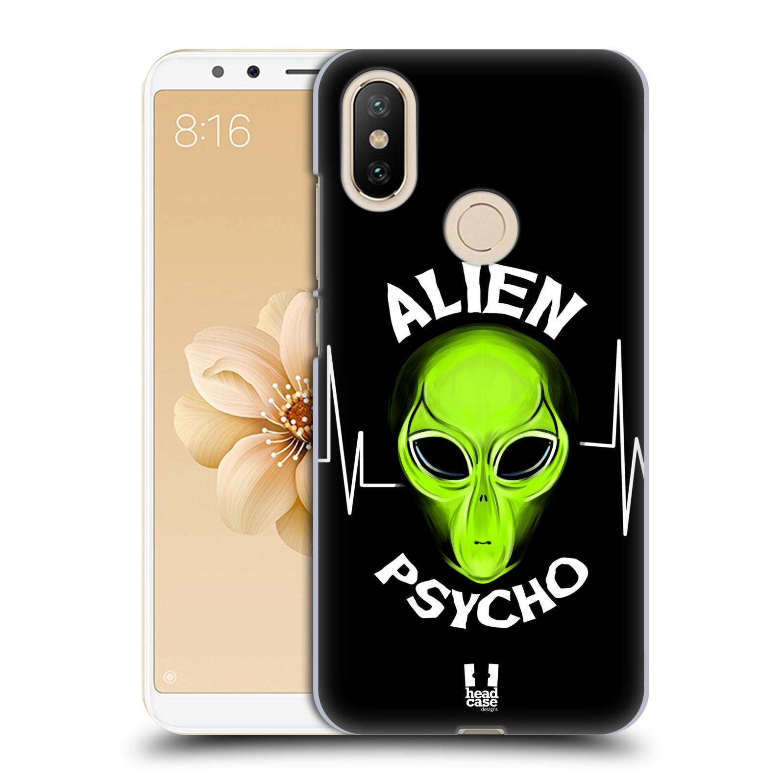 Plastové pouzdro na mobil Xiaomi Mi A2 - Head Case - ALIENS PSYCHO