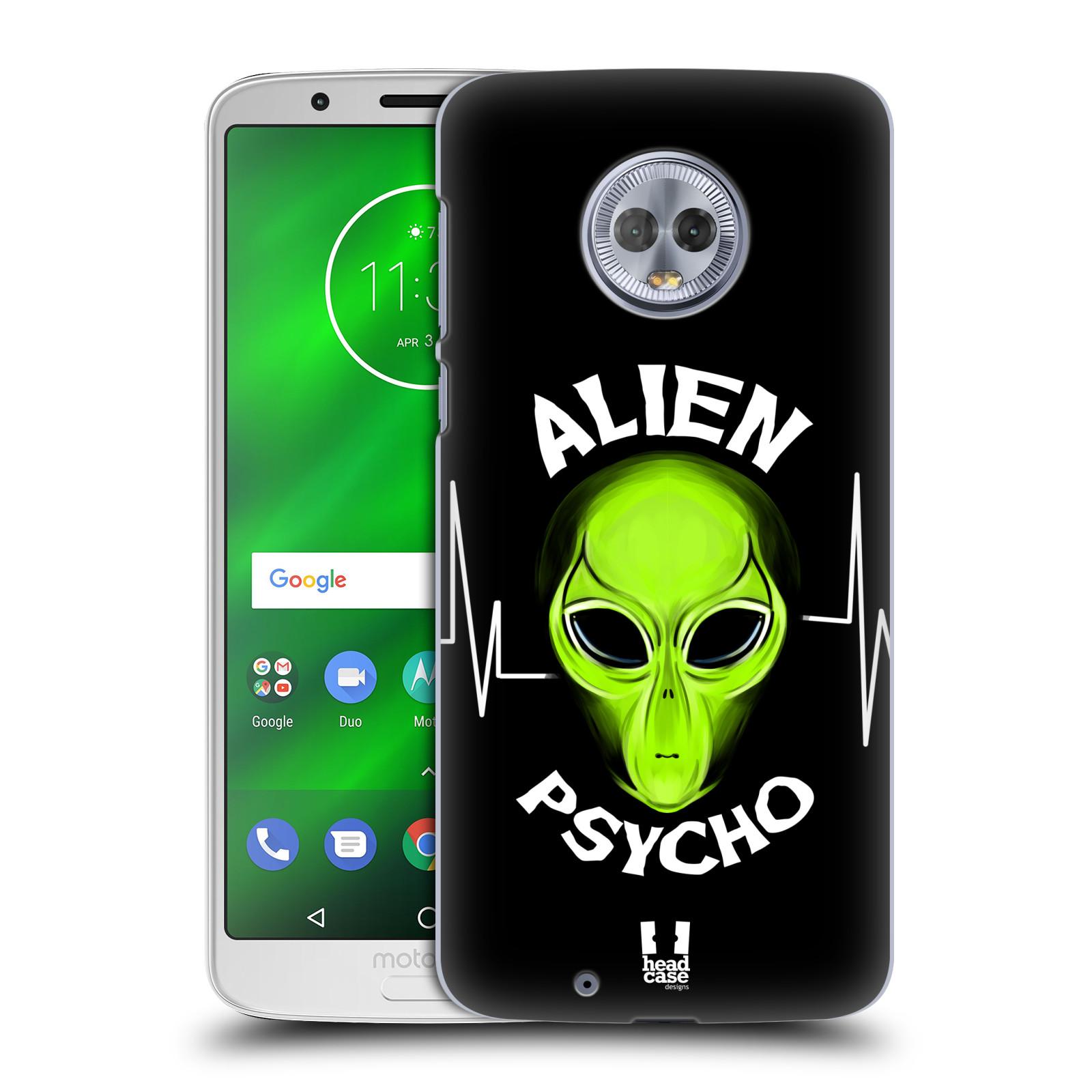 Plastové pouzdro na mobil Motorola Moto G6 - Head Case - ALIENS PSYCHO