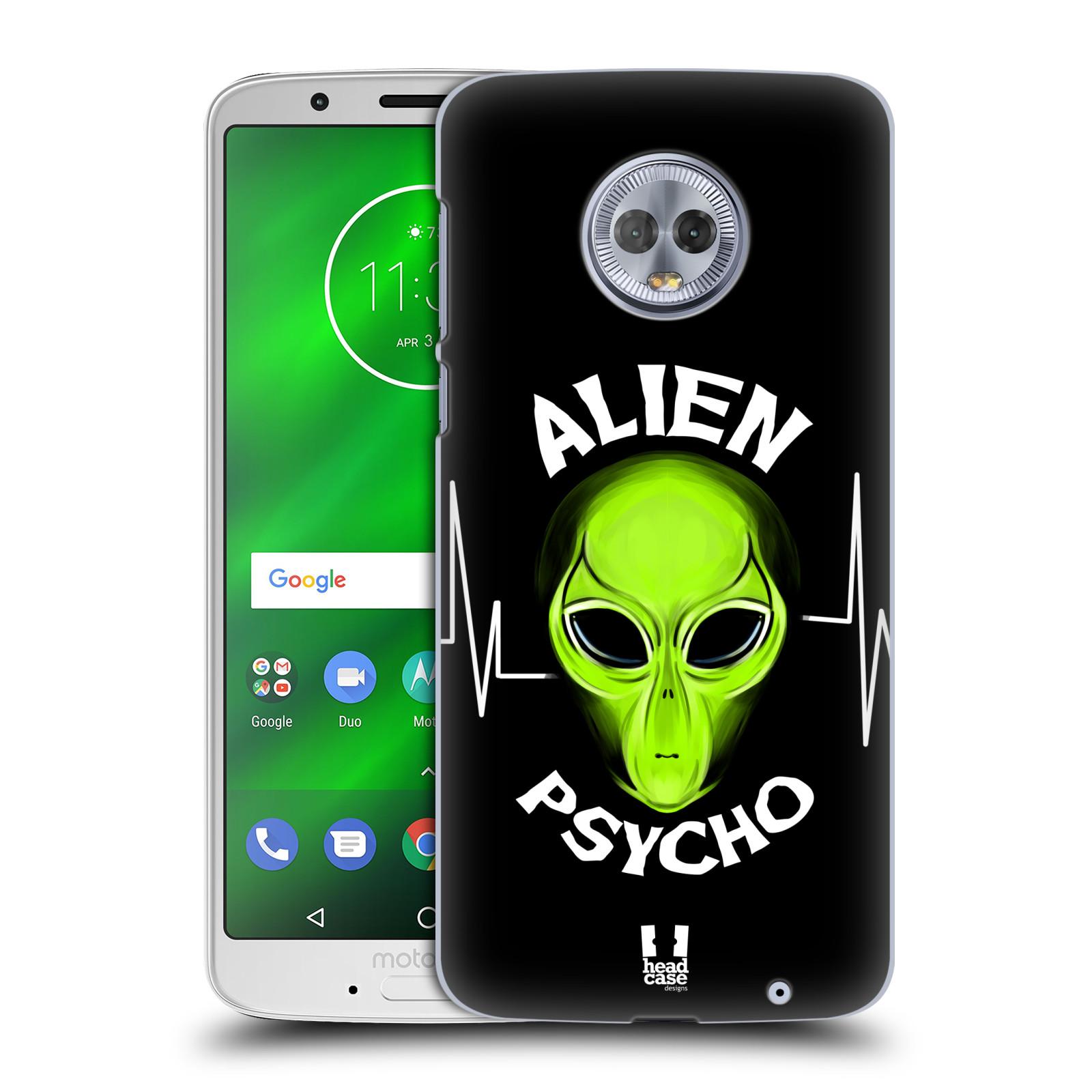 Plastové pouzdro na mobil Motorola Moto G6 Plus - Head Case - ALIENS PSYCHO