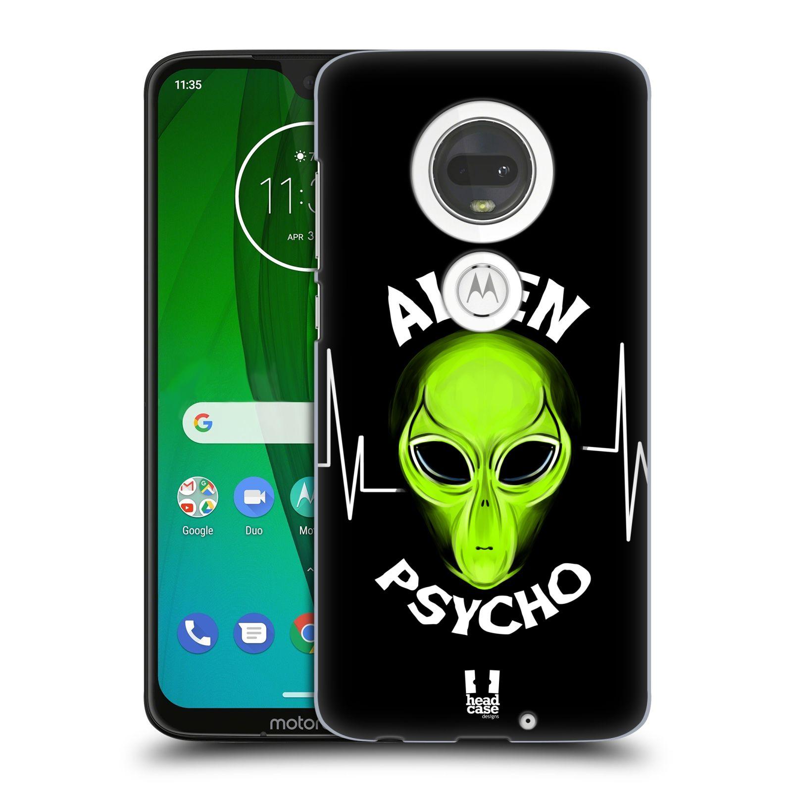 Plastové pouzdro na mobil Motorola Moto G7 - Head Case - ALIENS PSYCHO
