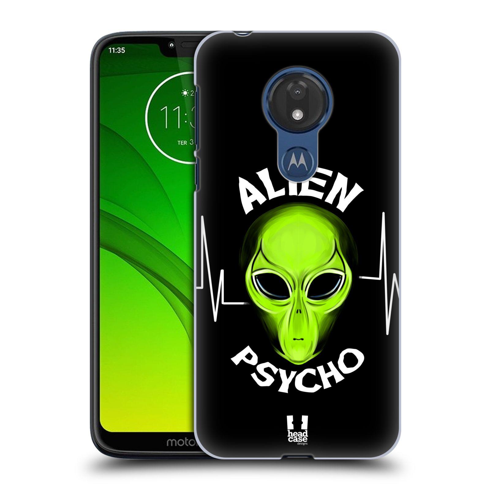 Plastové pouzdro na mobil Motorola Moto G7 Power - Head Case - ALIENS PSYCHO