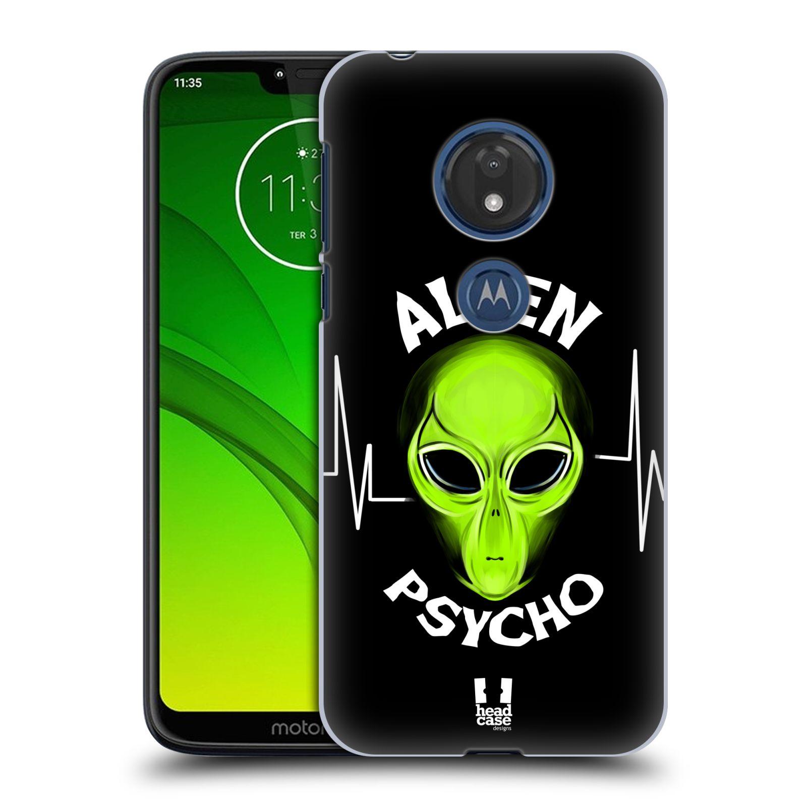 Plastové pouzdro na mobil Motorola Moto G7 Play - Head Case - ALIENS PSYCHO