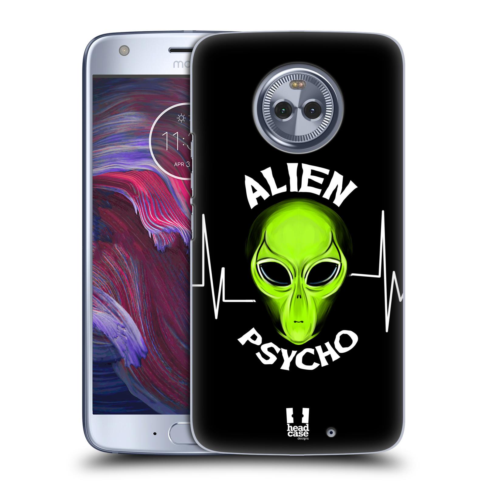 Plastové pouzdro na mobil Lenovo Moto X4 - Head Case - ALIENS PSYCHO